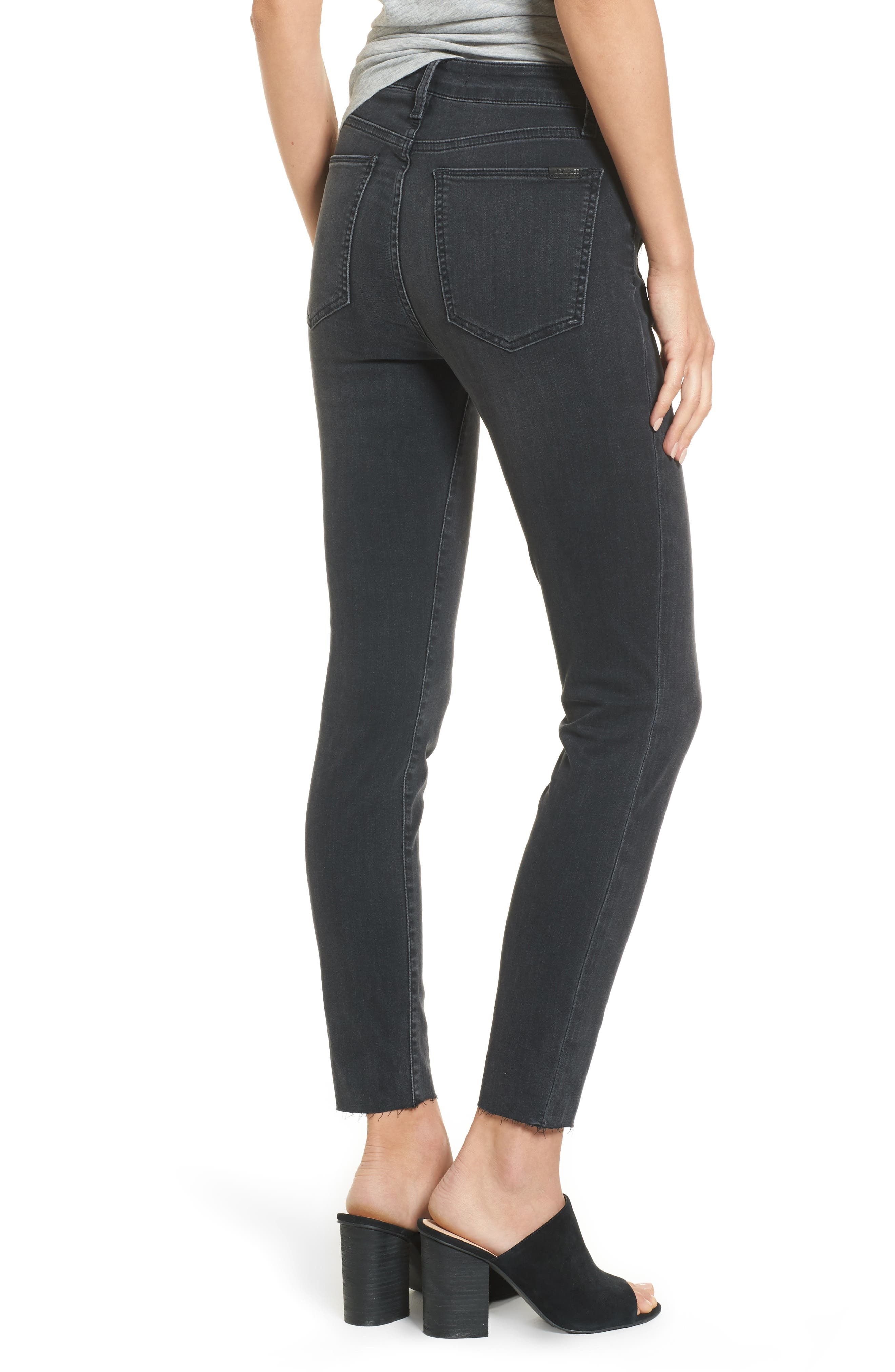 Charlie High Waist Ankle Skinny Jeans,                             Alternate thumbnail 2, color,                             003