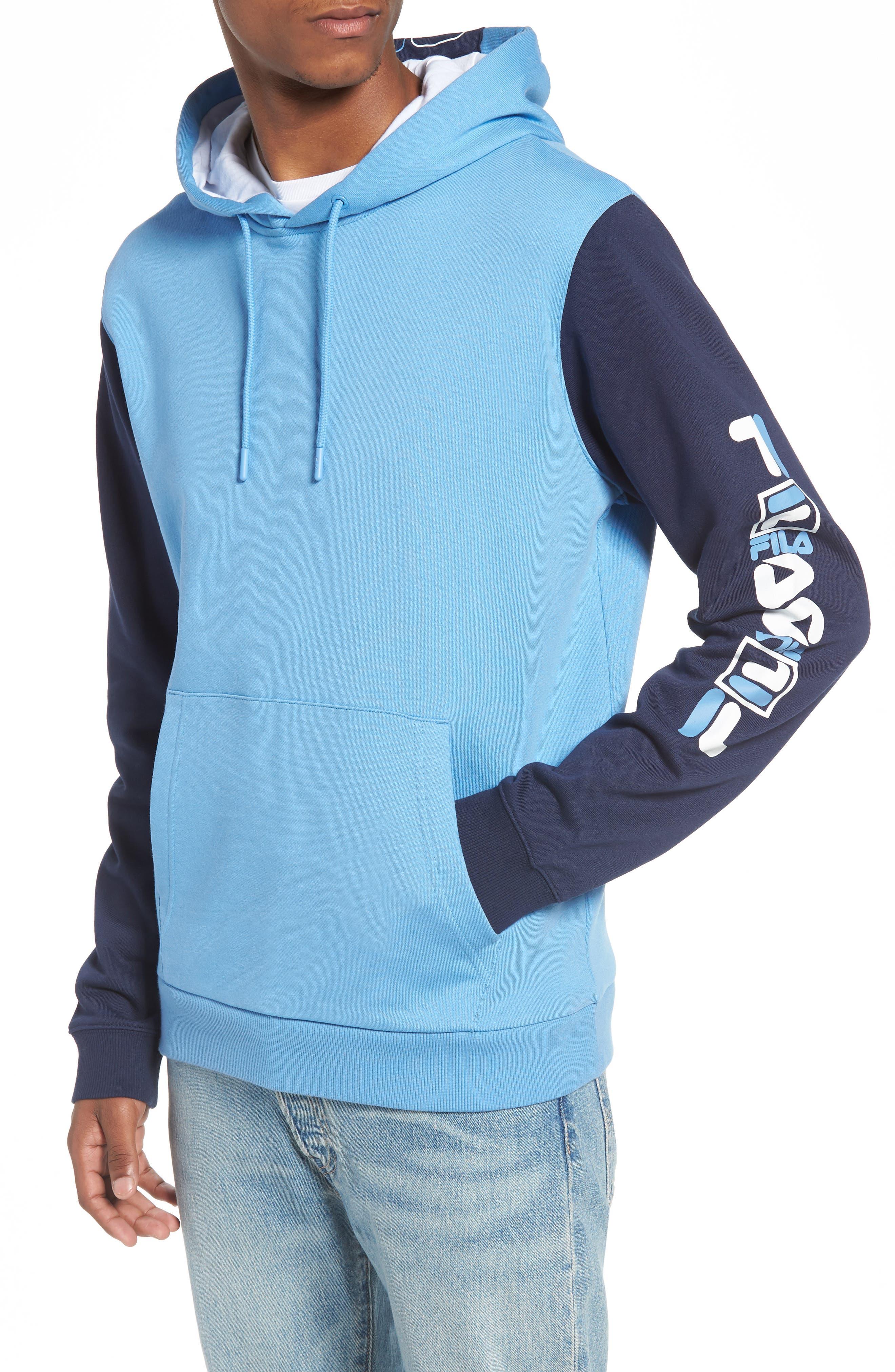 Jamison Hoodie,                         Main,                         color, BLUE/ PEACOAT/ WHITE