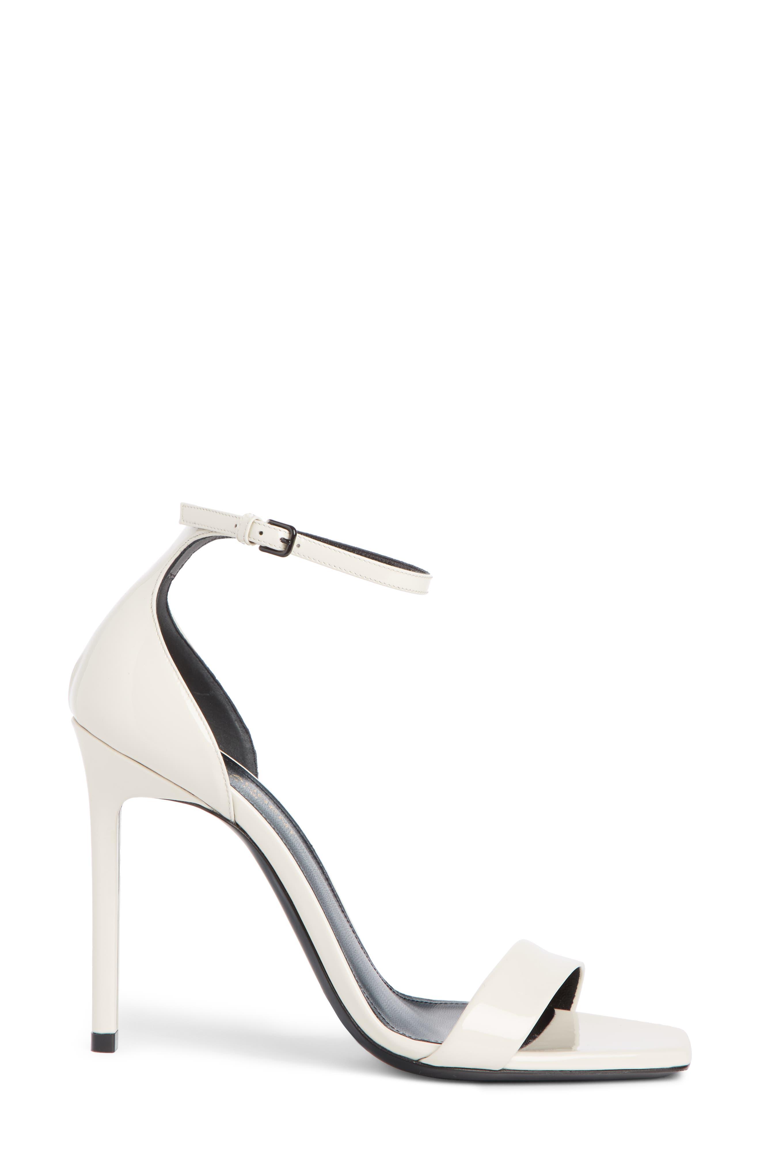 Amber Ankle Strap Sandal,                             Alternate thumbnail 3, color,                             LATTE