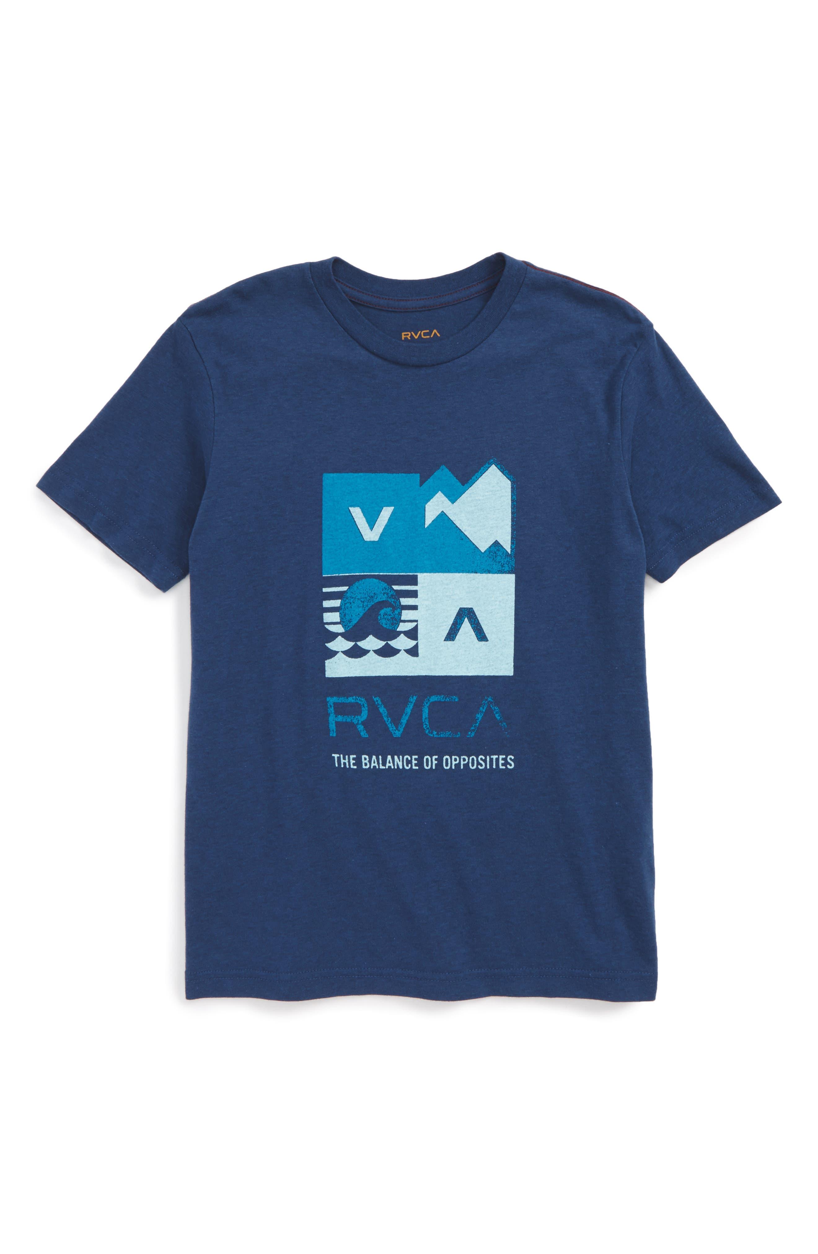 Surf Check Graphic Print T-Shirt,                             Main thumbnail 1, color,                             407