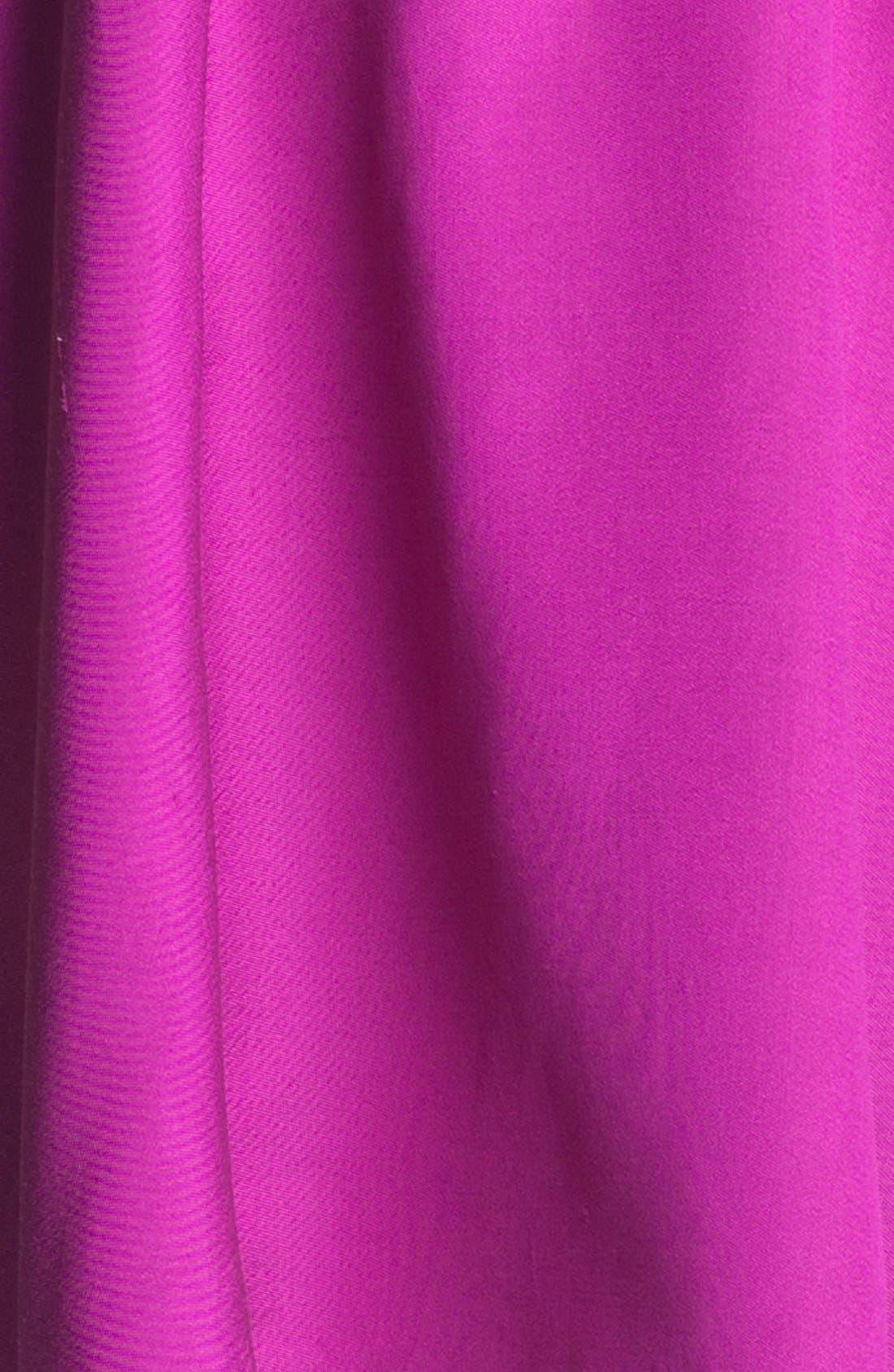 'landry' silk blend fit & flare dress,                             Alternate thumbnail 2, color,                             500