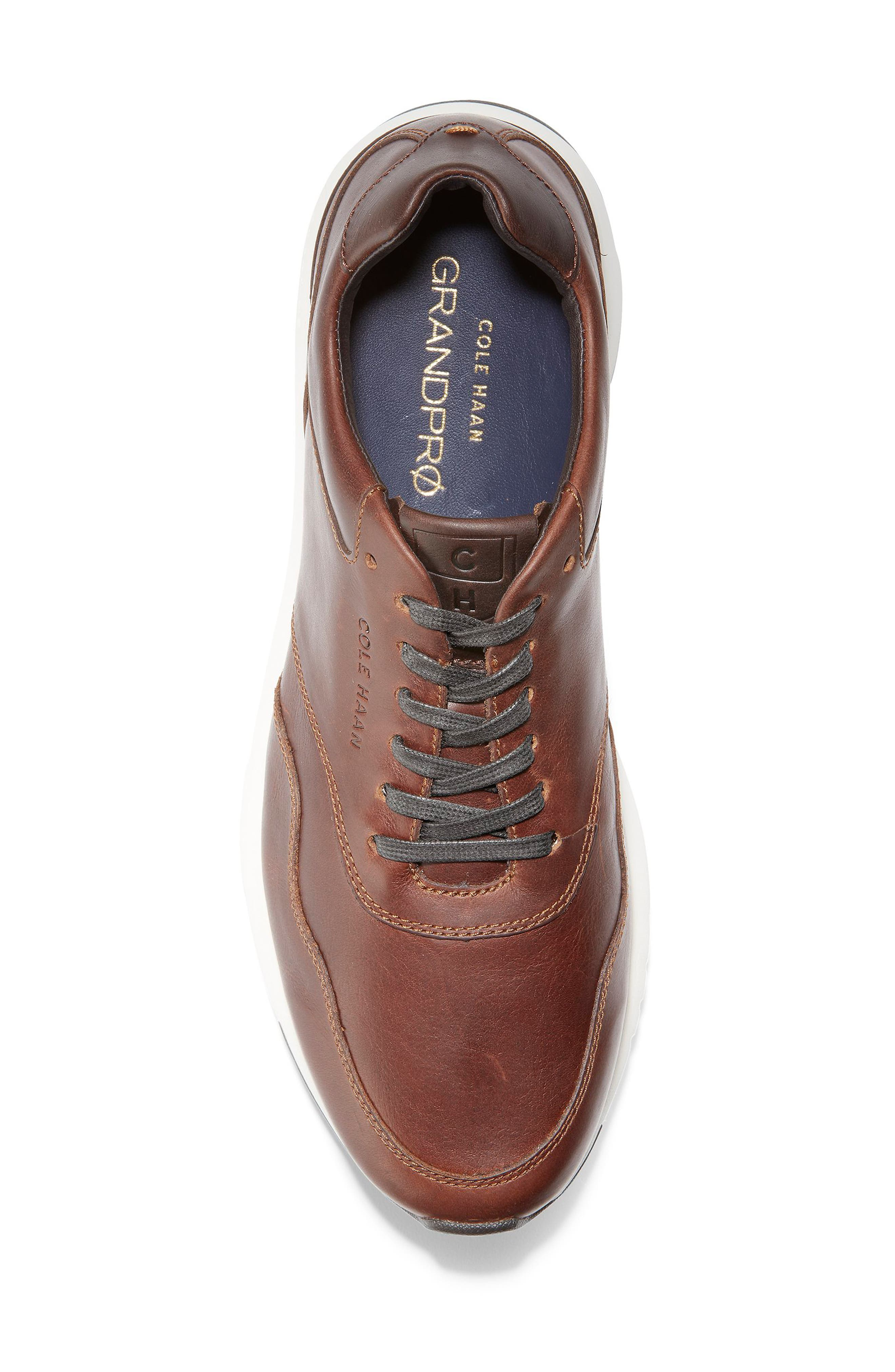 GrandPro Sneaker,                             Alternate thumbnail 5, color,                             MESQUITE/ COFFEE LEATHER