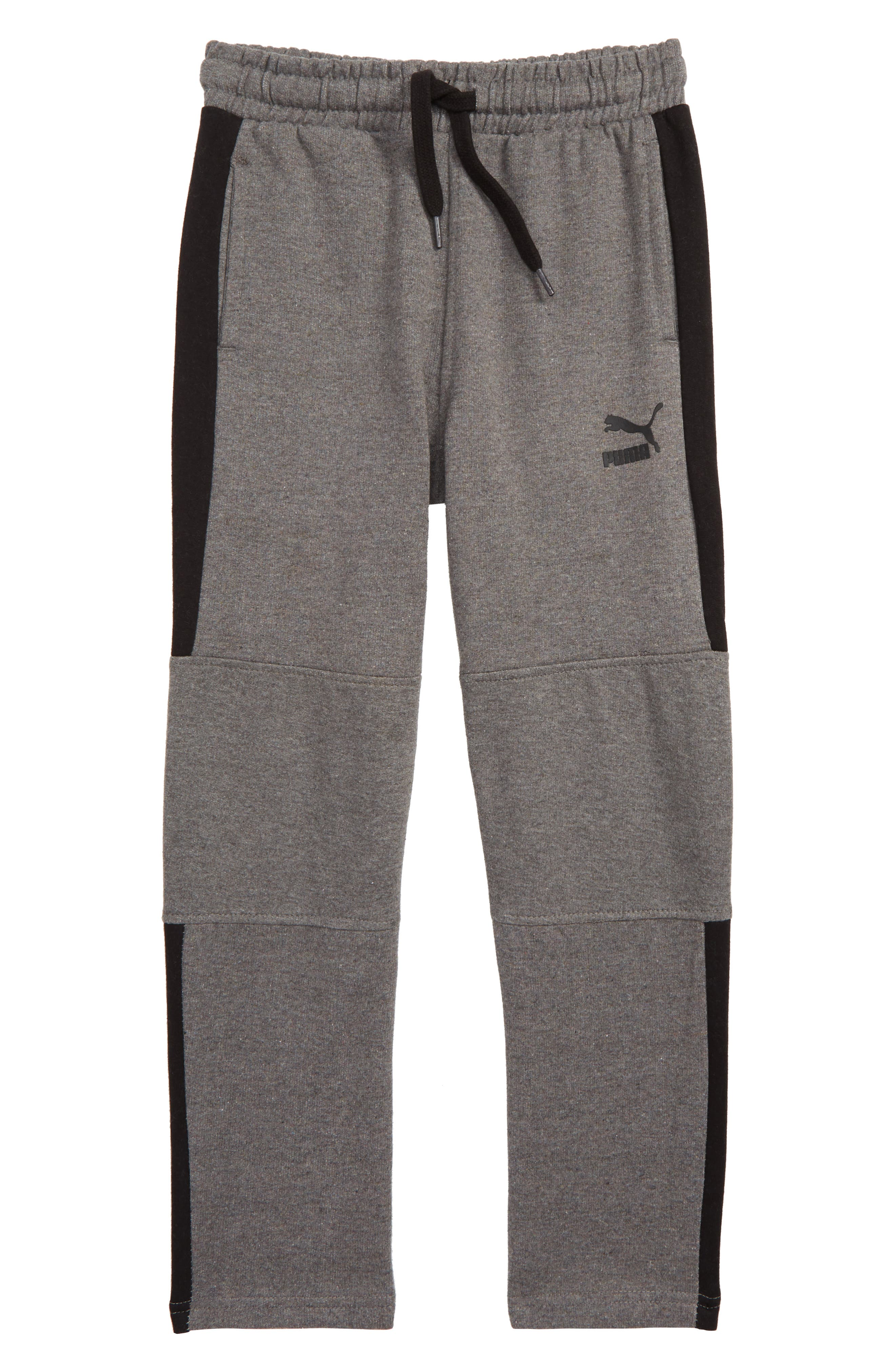 Boys Puma T7 Fleece Track Pants