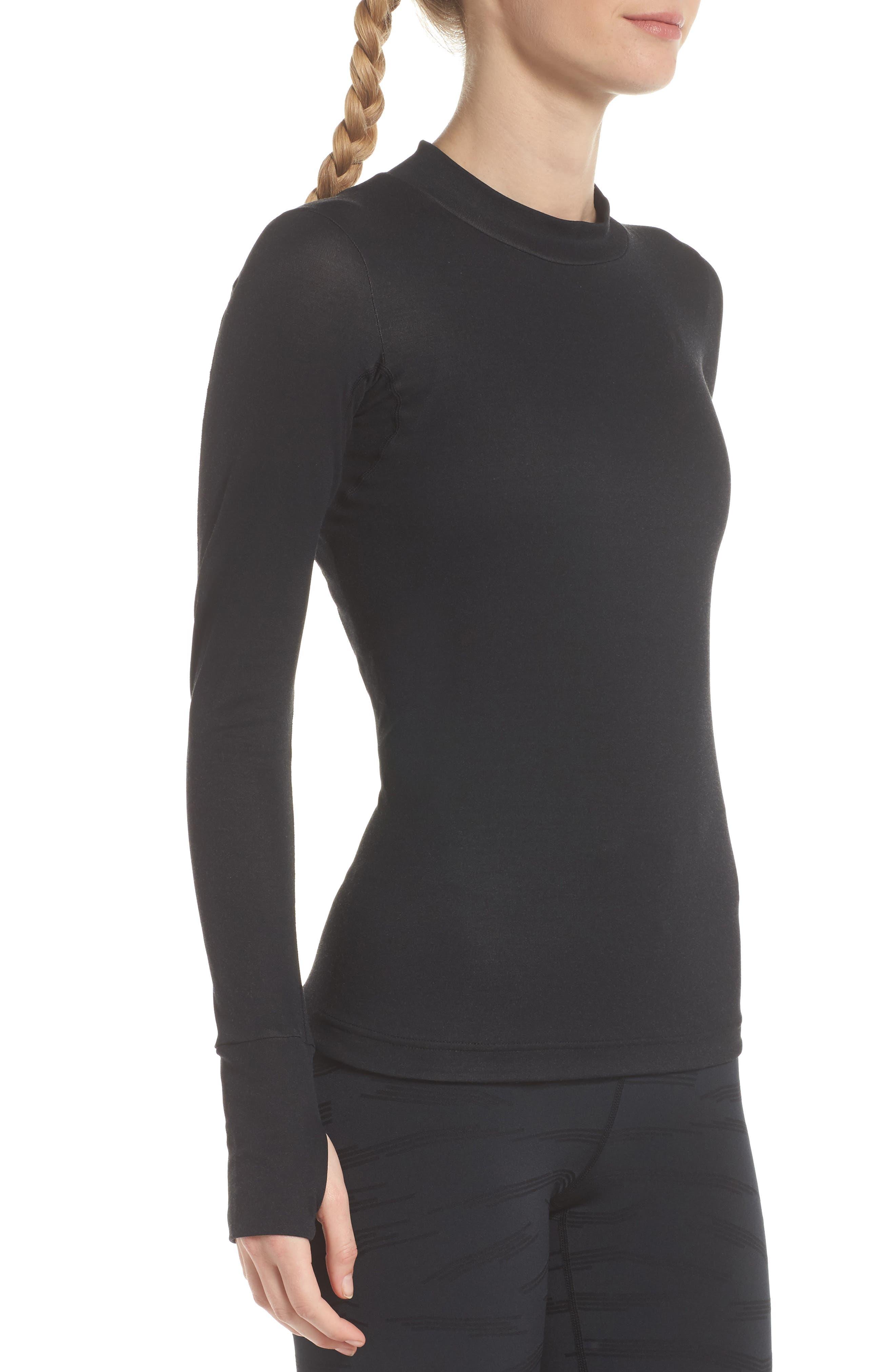 NikeLab ACG Long Sleeve Women's Top,                             Alternate thumbnail 3, color,                             010