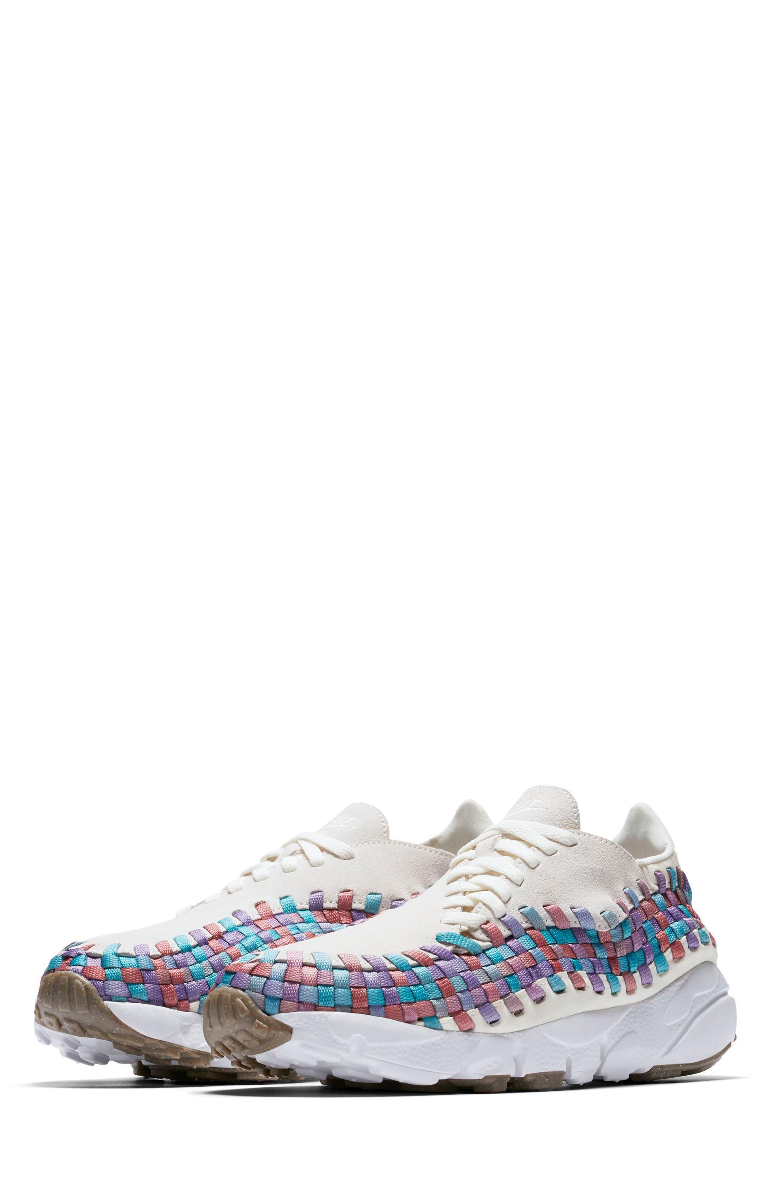 Air Footscape Woven Sneaker,                             Alternate thumbnail 12, color,