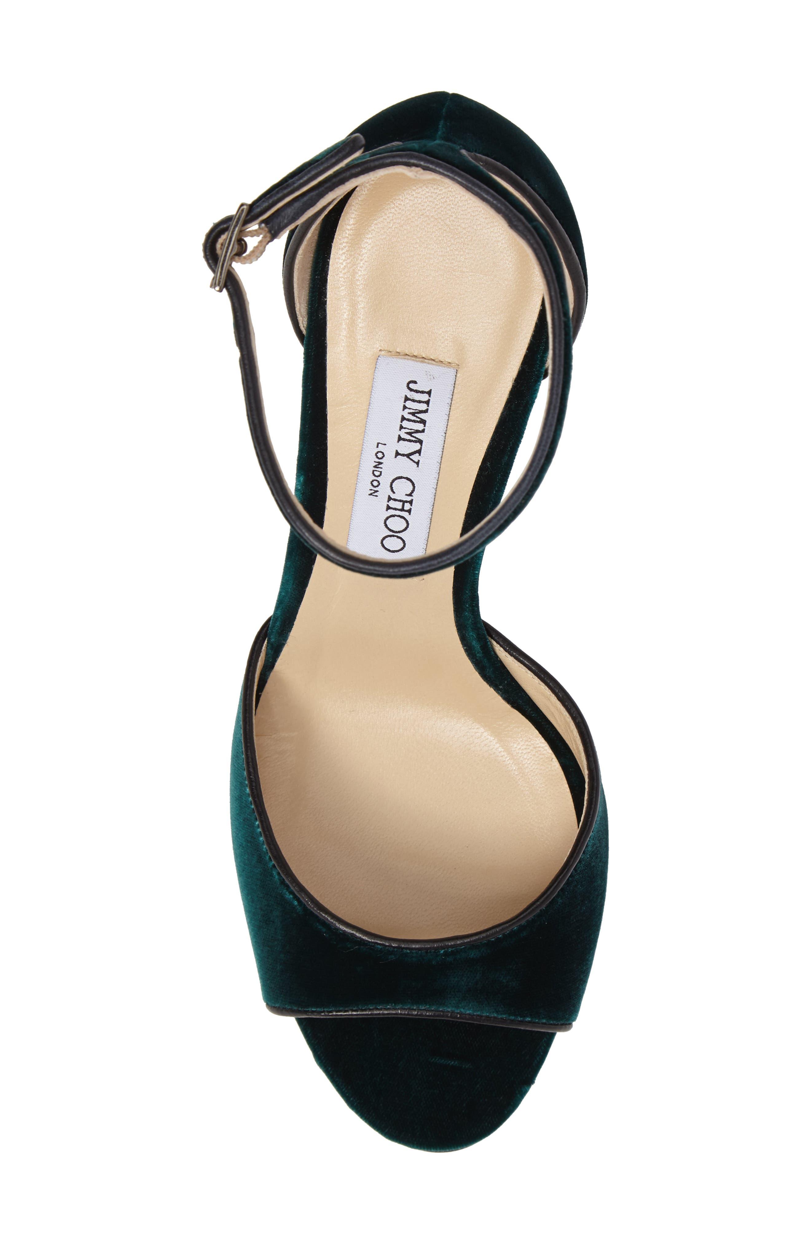 Annie Ankle Strap Sandal,                             Alternate thumbnail 5, color,                             300