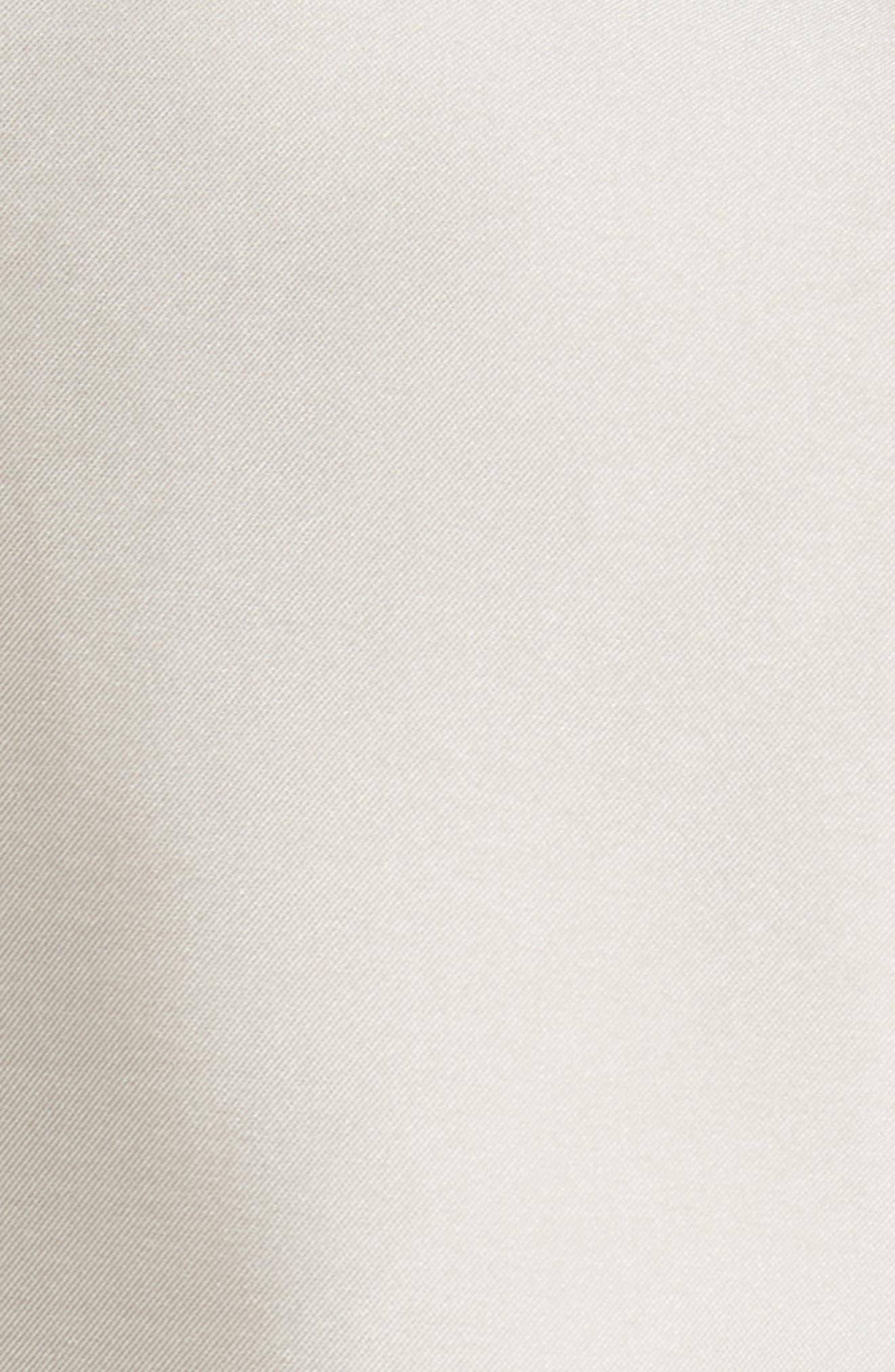 Noir Embellished V-Neck Gown,                             Alternate thumbnail 5, color,                             250
