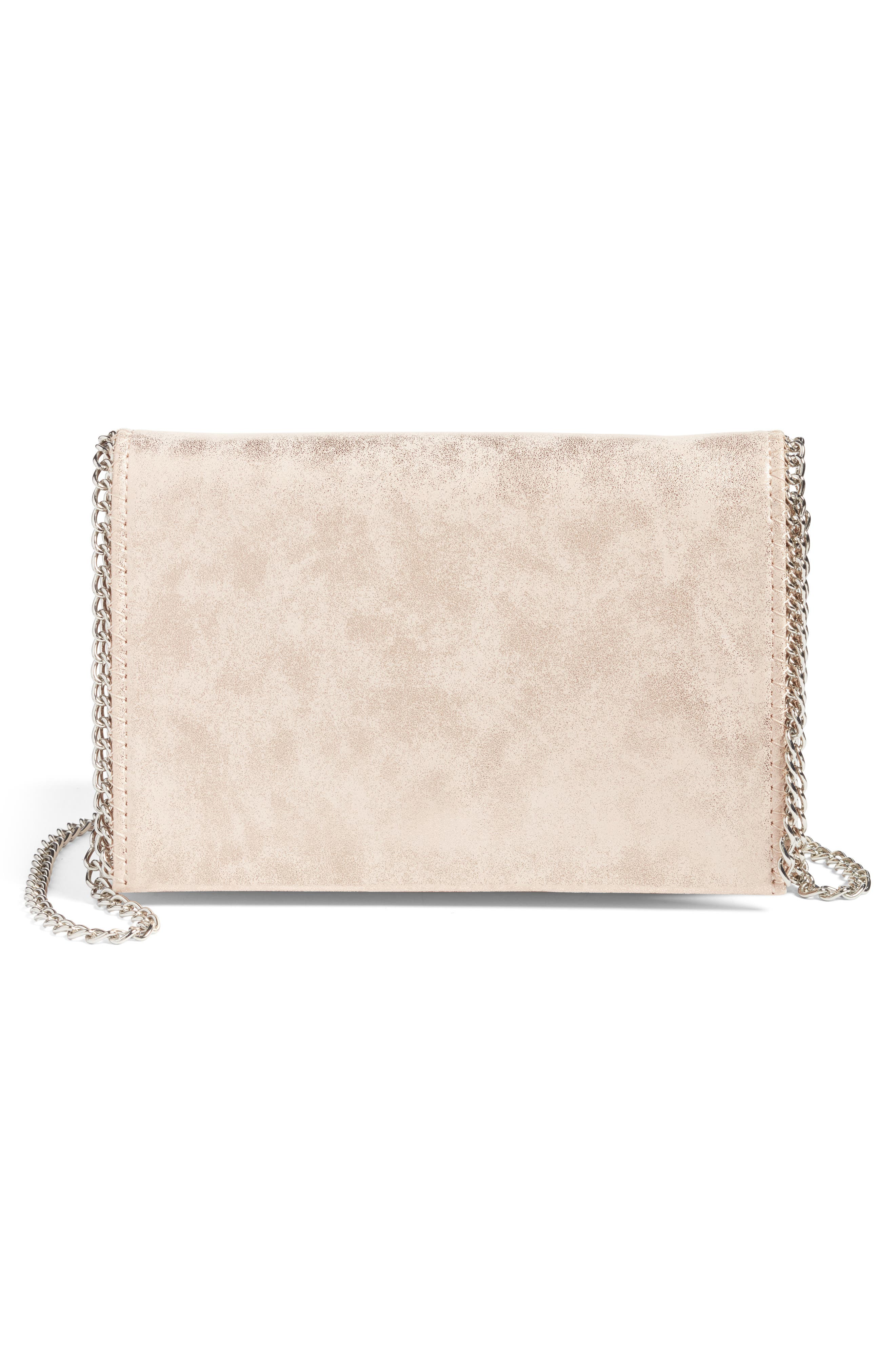 Faux Leather Crossbody Clutch,                             Main thumbnail 2, color,