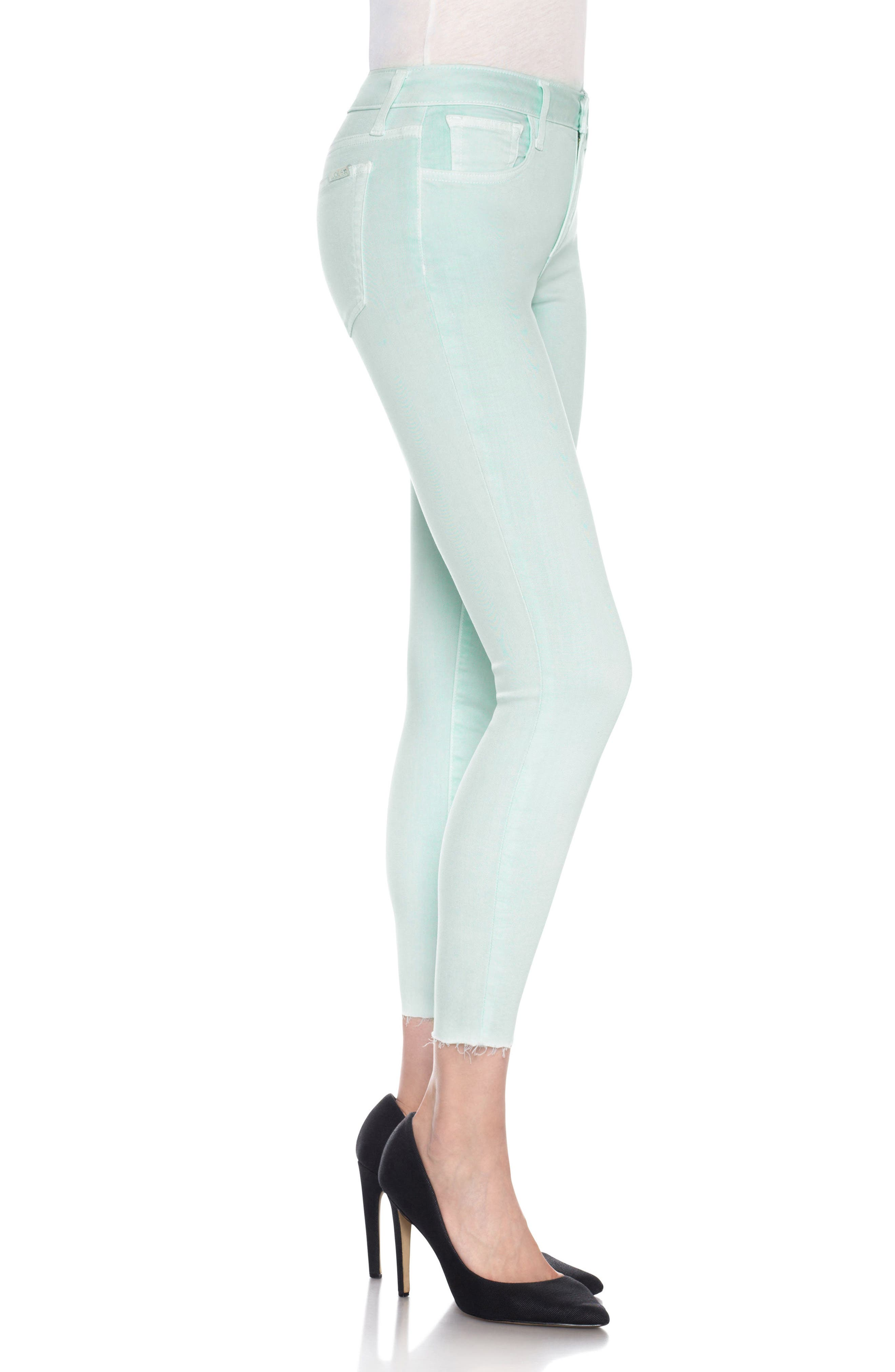 Charlie High Rise Ankle Skinny Jeans,                             Alternate thumbnail 25, color,