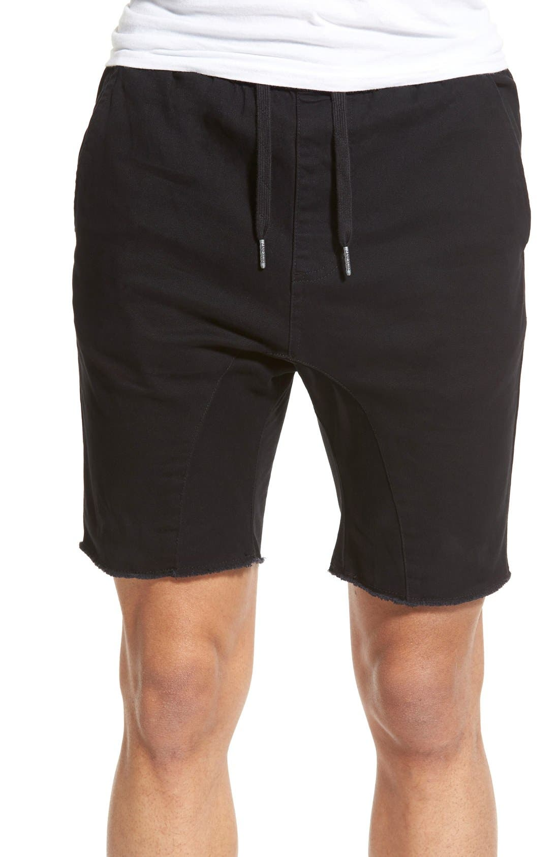 'Sureshot' Shorts,                         Main,                         color, BLACK
