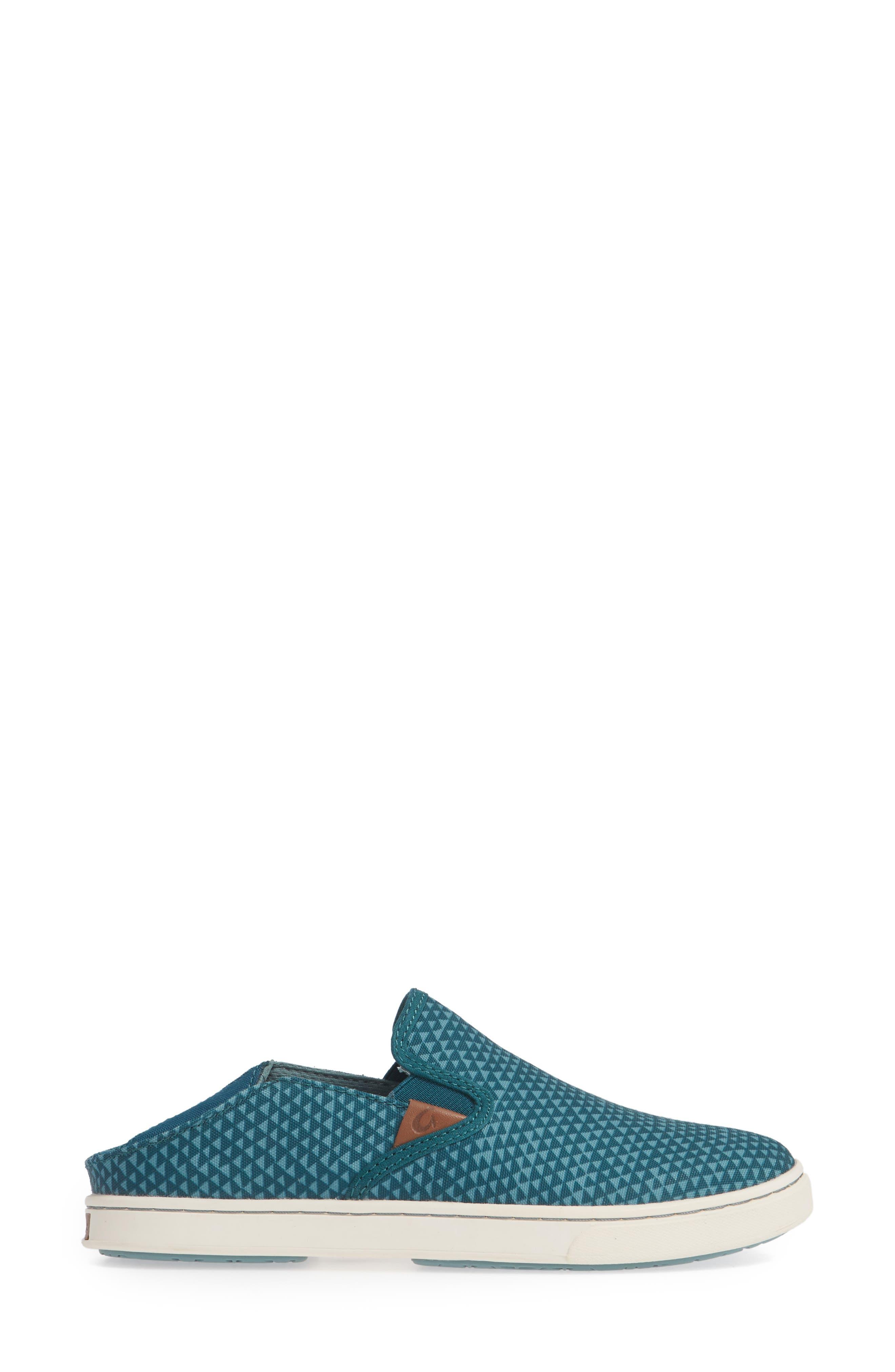 Pehuea Pa'i Convertible Sneaker,                             Alternate thumbnail 4, color,                             DEEP TEAL/ TRIANGLE FABRIC