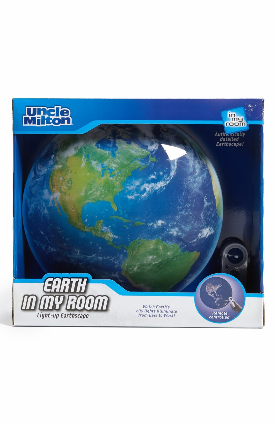 UNCLE MILTON 'Earth In My Room' Light-Up Wall Art, Main, color, 960
