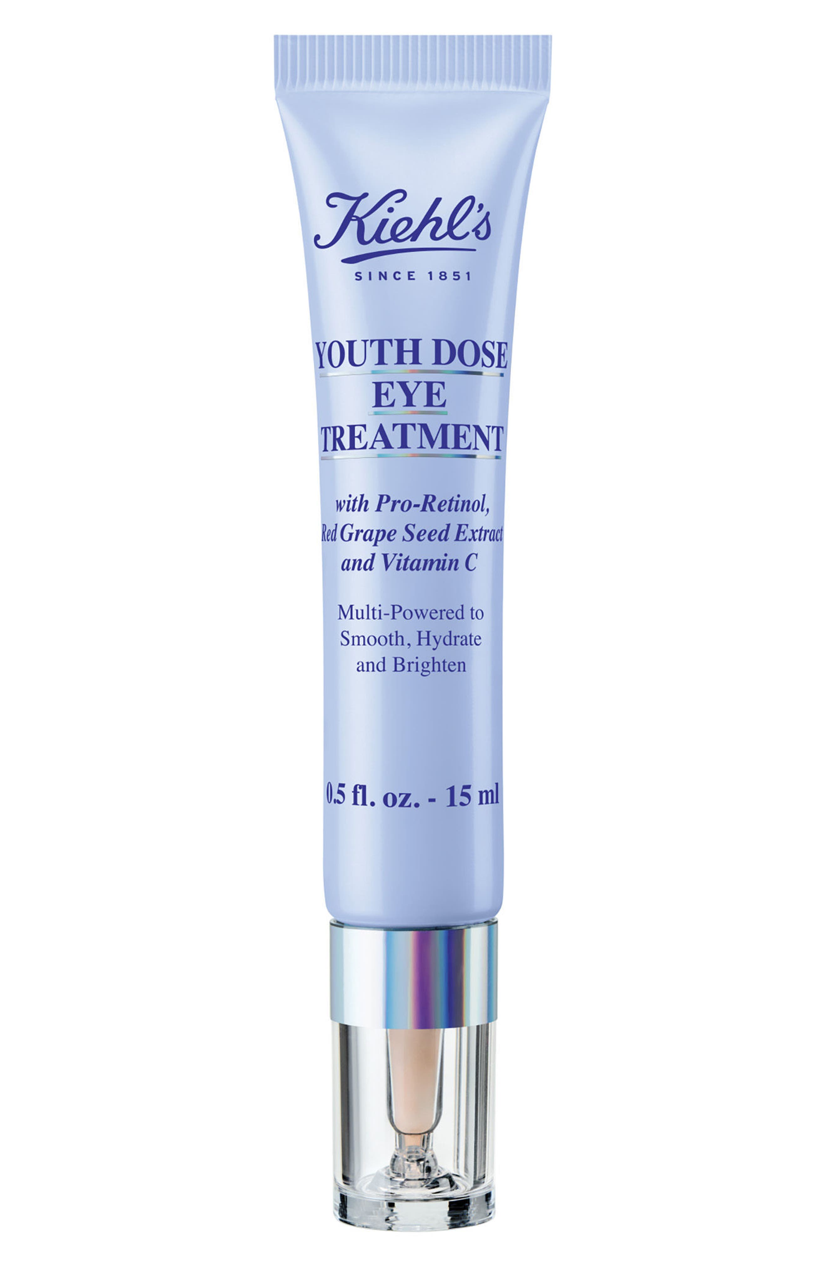 KIEHL'S SINCE 1851,                             Youth Dose Eye Treatment,                             Main thumbnail 1, color,                             NO COLOR
