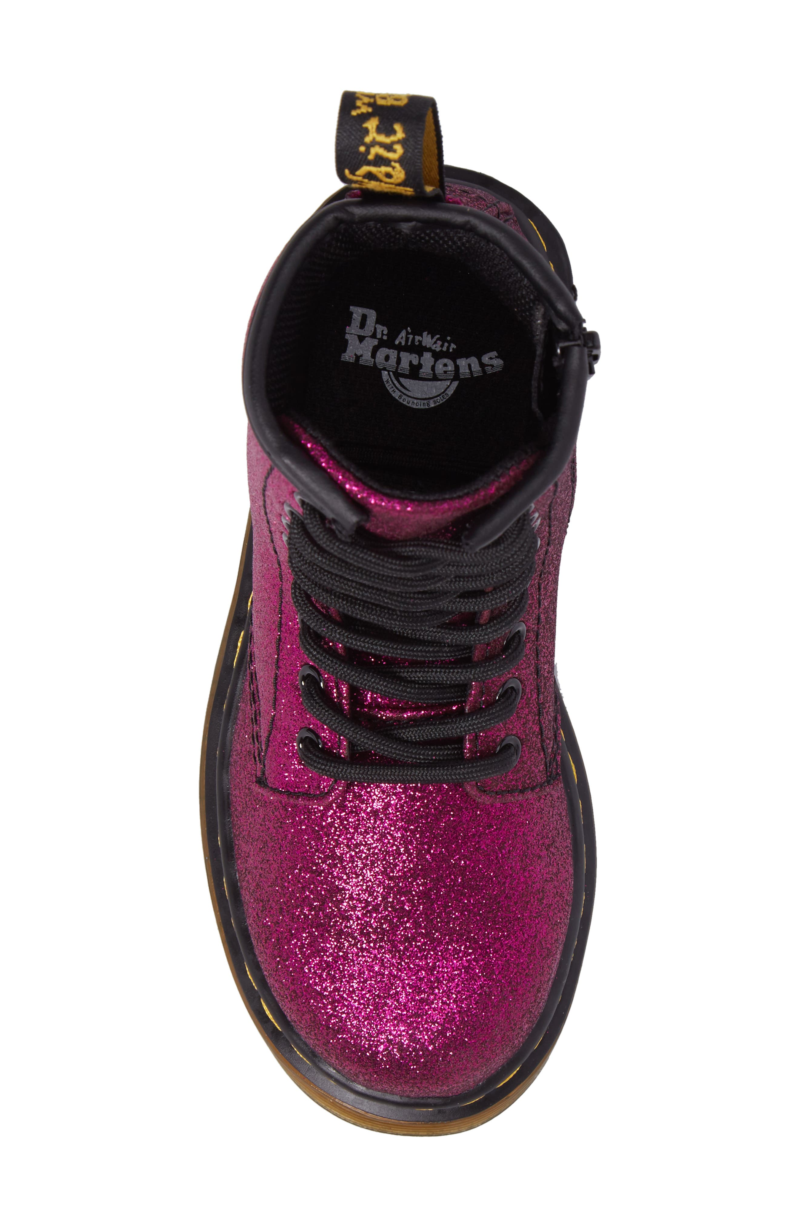 Delaney Glitter Boot,                             Alternate thumbnail 18, color,