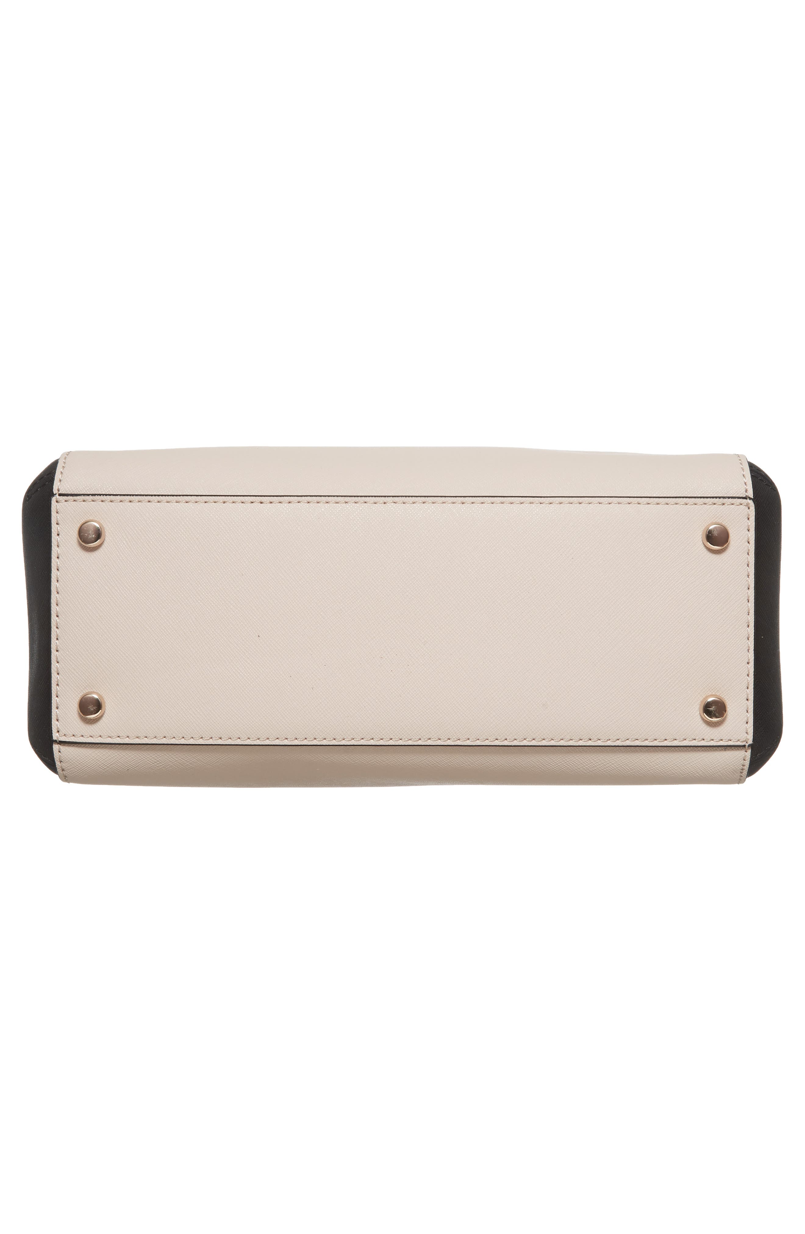 cameron street large lane leather satchel,                             Alternate thumbnail 6, color,                             005