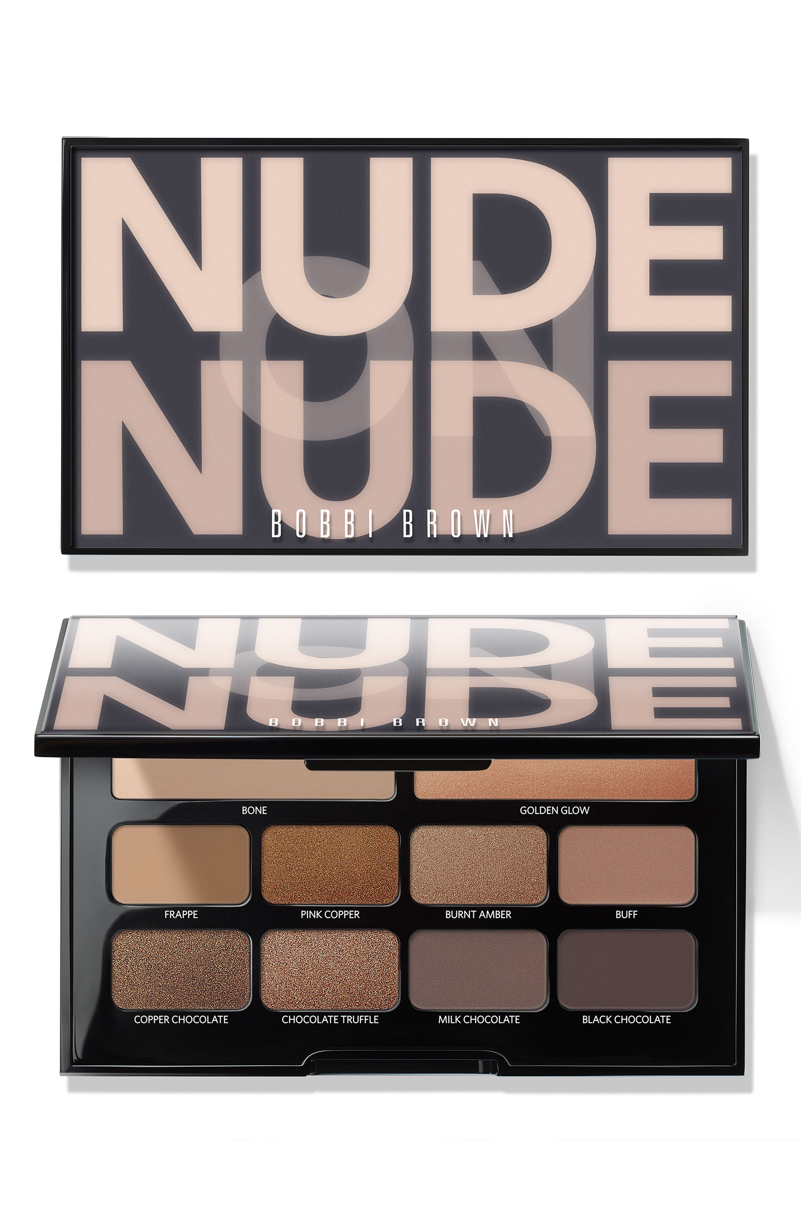Nude on Nude Eyeshadow Palette,                             Alternate thumbnail 4, color,                             BRONZED NUDES
