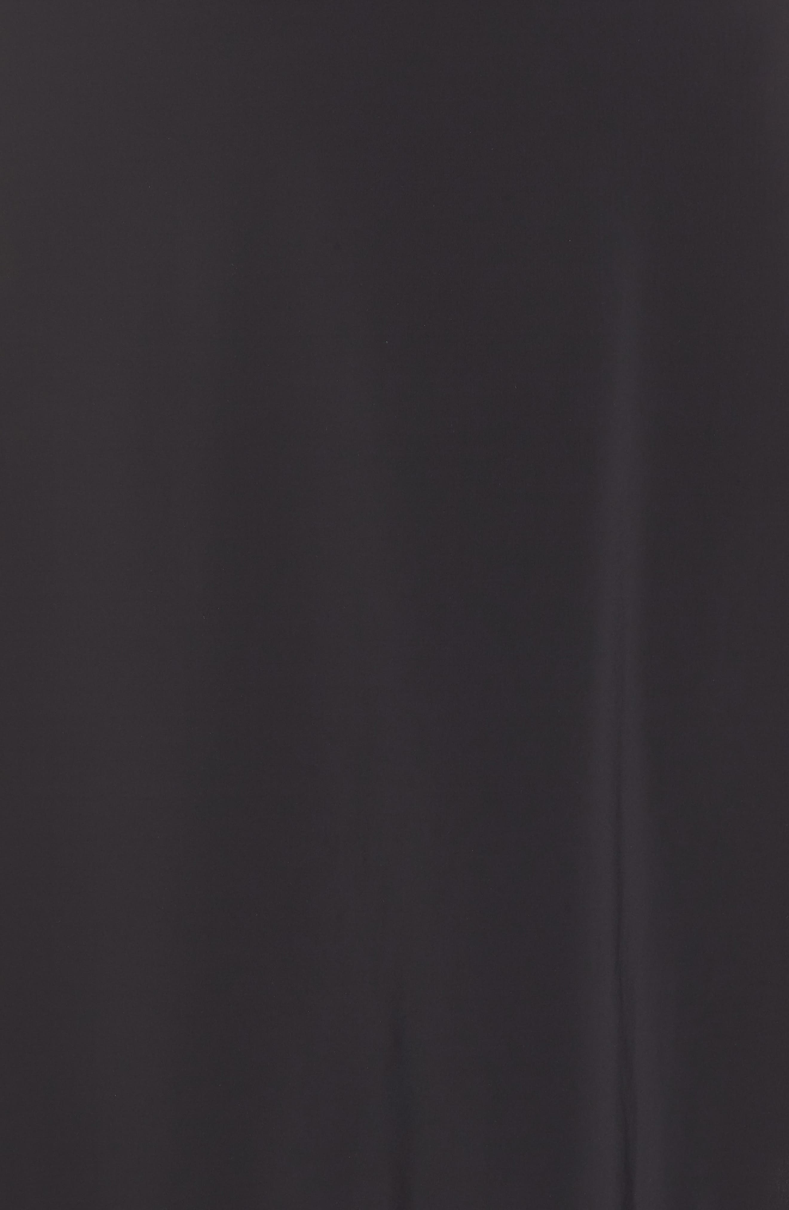 Infinity Lace Trim Half Slip,                             Alternate thumbnail 5, color,                             BLACK