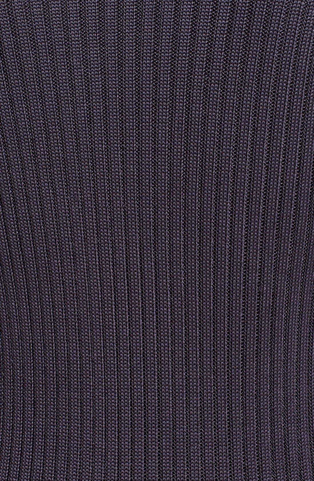 'Kristin' Long Colorblock Cardigan,                             Alternate thumbnail 3, color,                             020