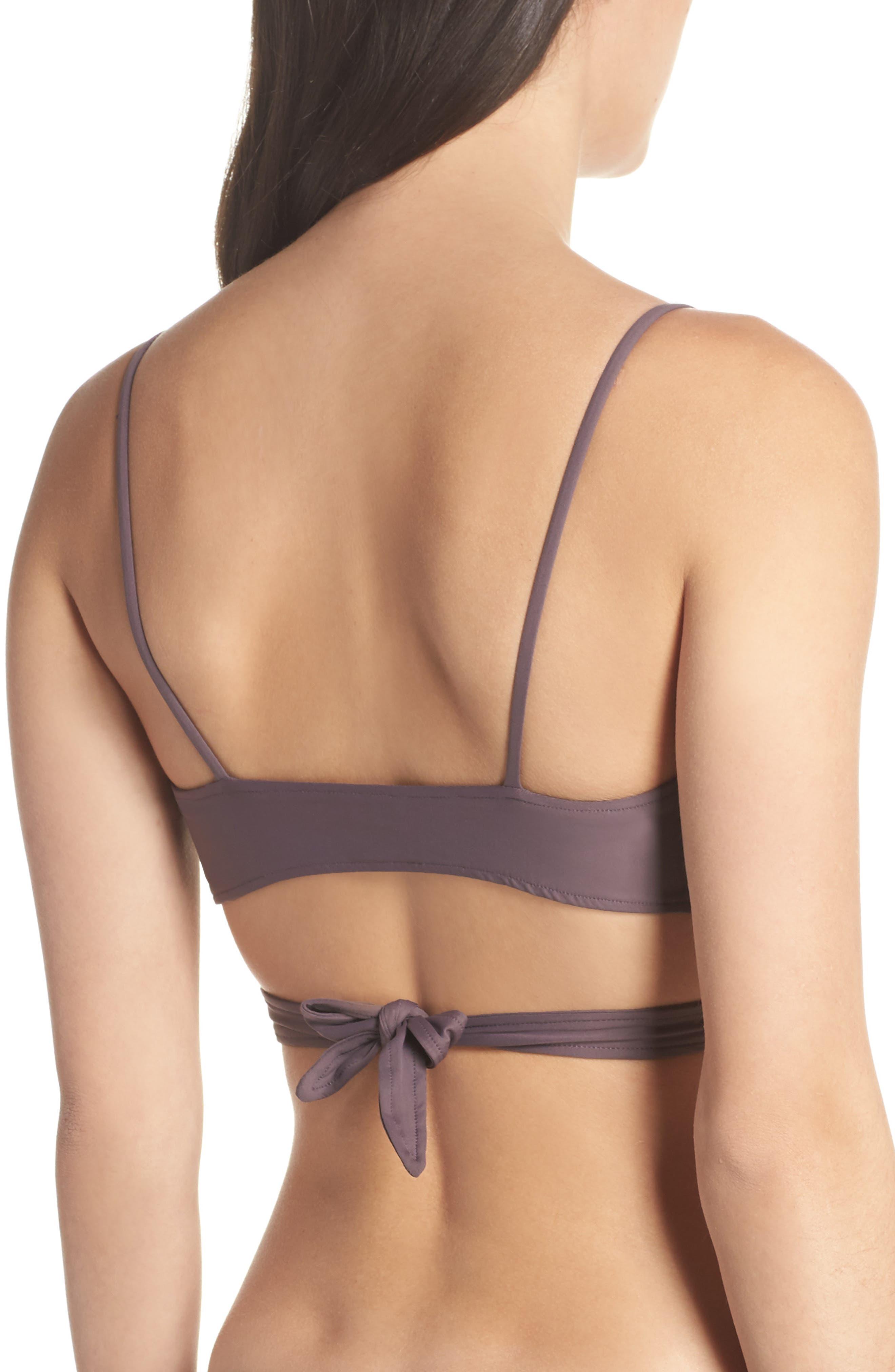 Chloe Wrap Bikini Top,                             Alternate thumbnail 2, color,                             020