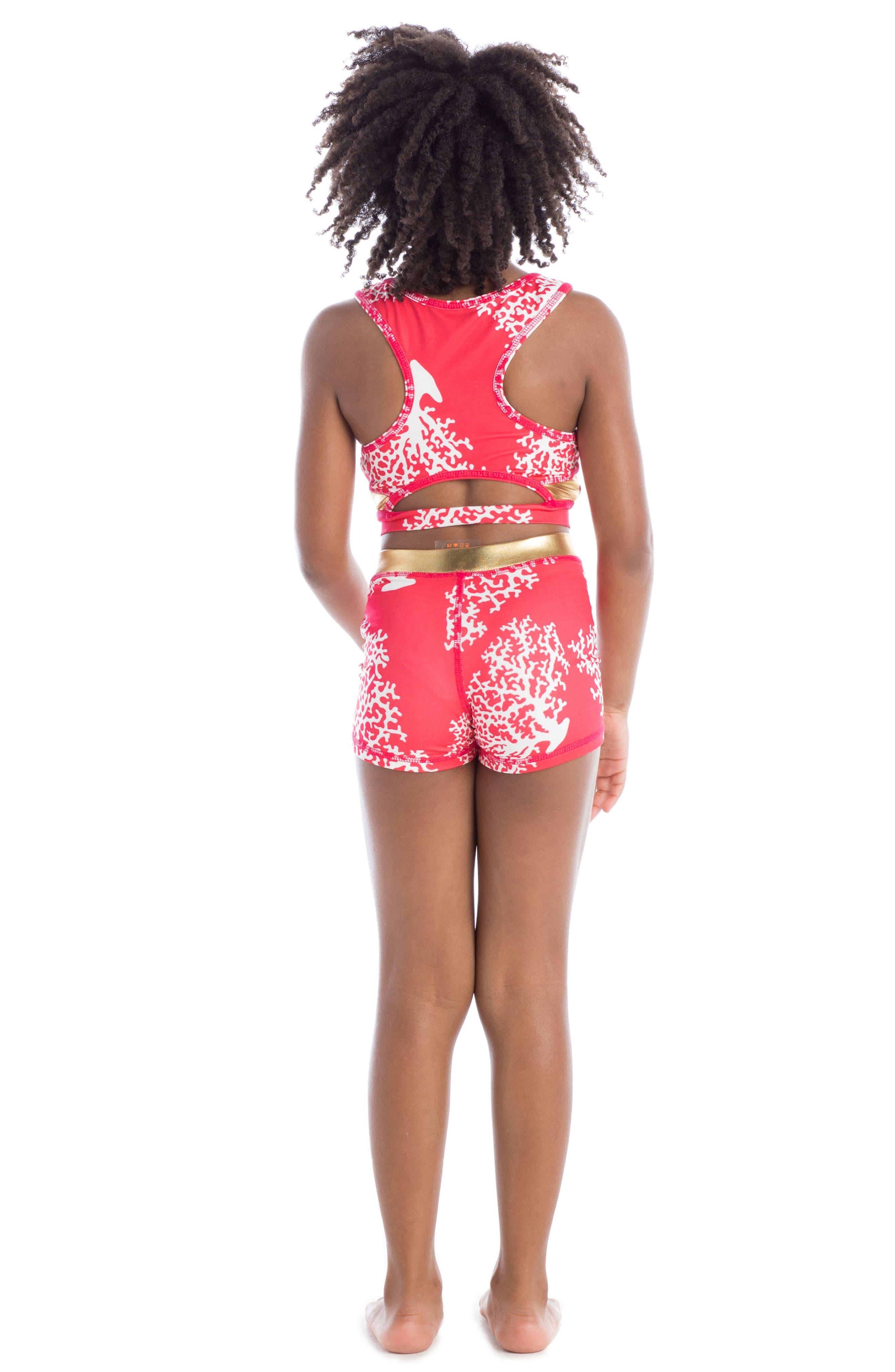 Racerback Two-Piece Swimsuit,                             Alternate thumbnail 4, color,                             600