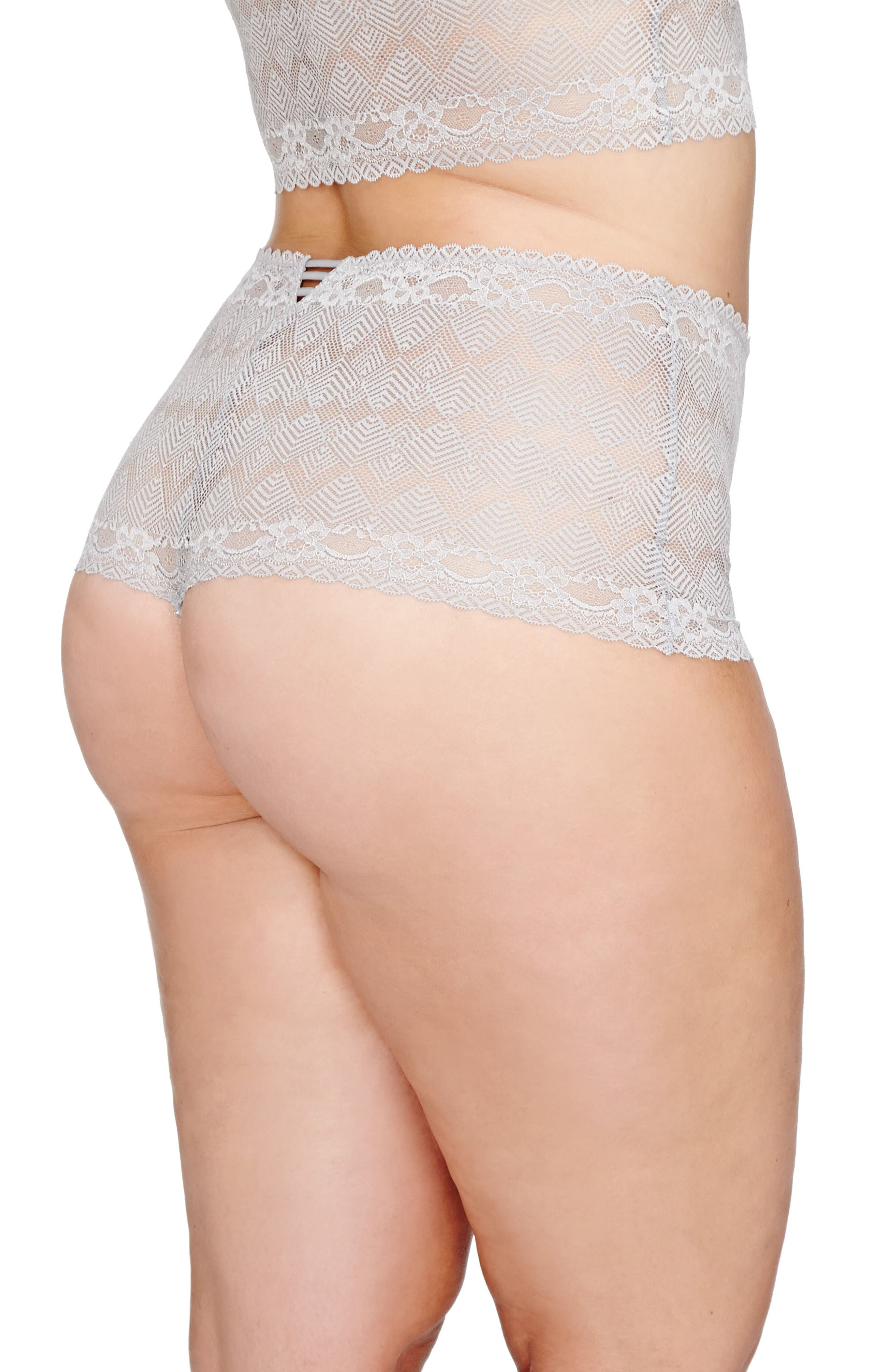 Lace Thong,                             Alternate thumbnail 3, color,                             040
