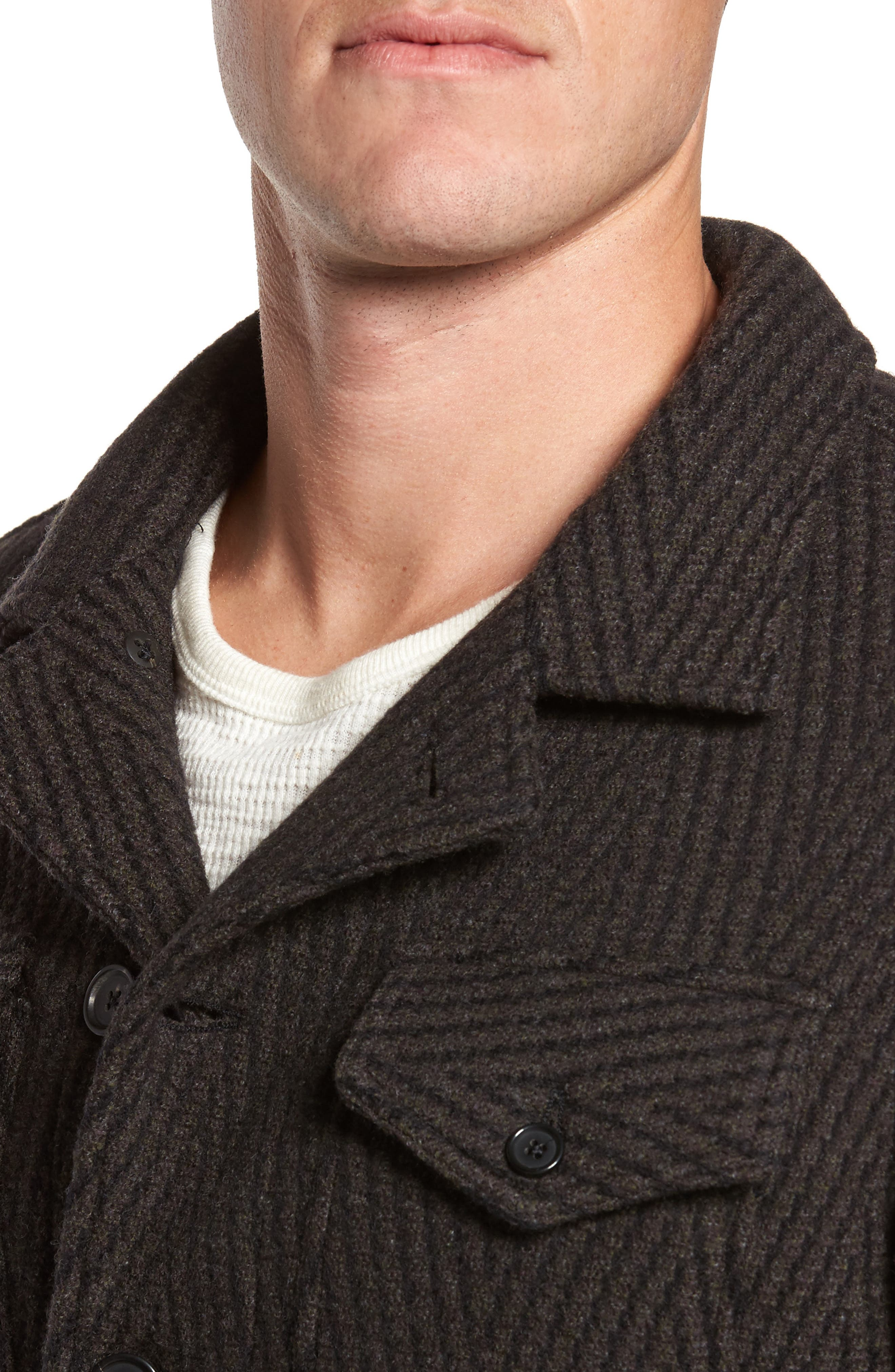 Berger Wool Shirt Jacket,                             Alternate thumbnail 4, color,                             200