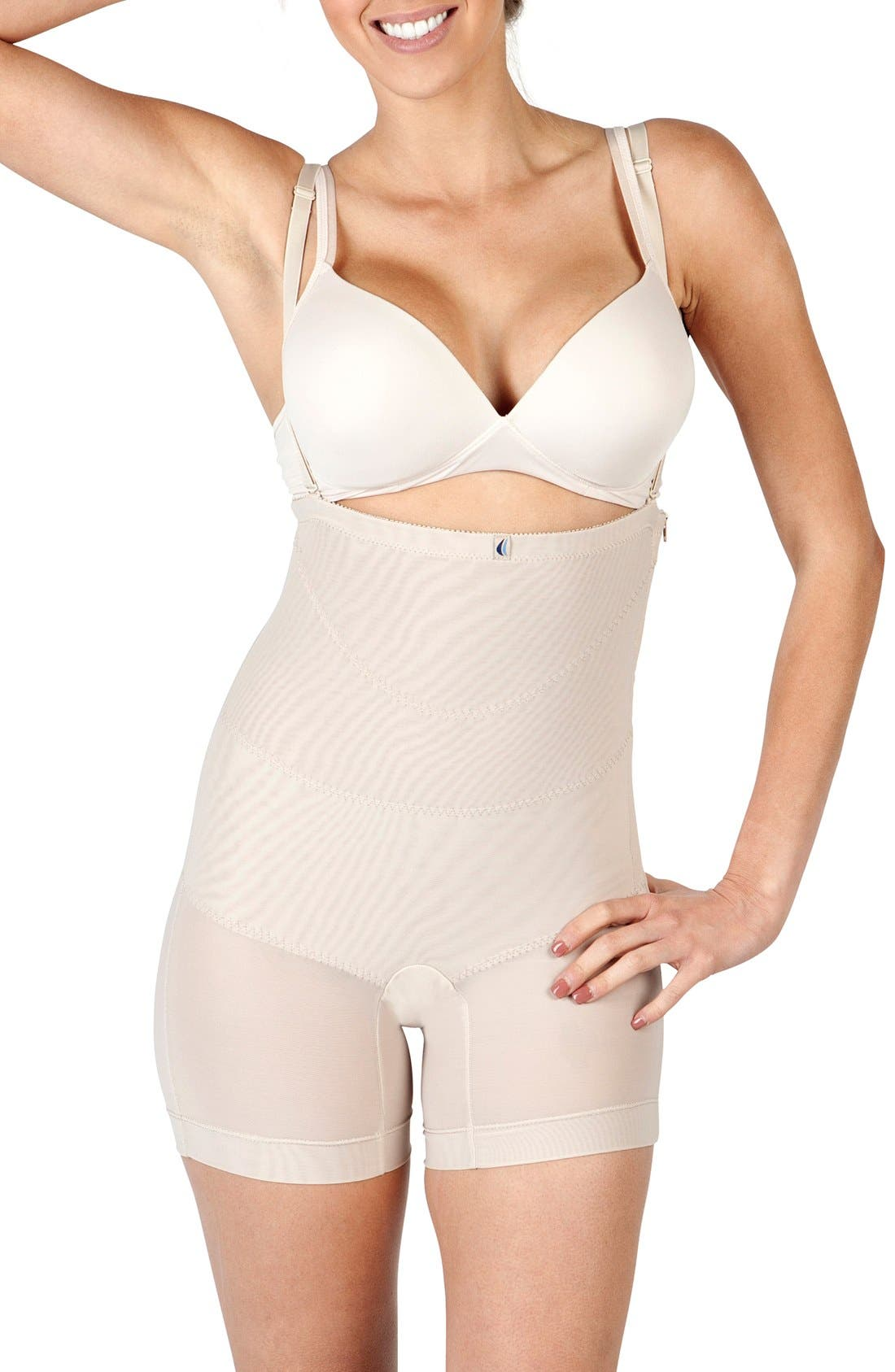 'Sienna' Post C-Section Garment,                             Main thumbnail 1, color,                             NUDE