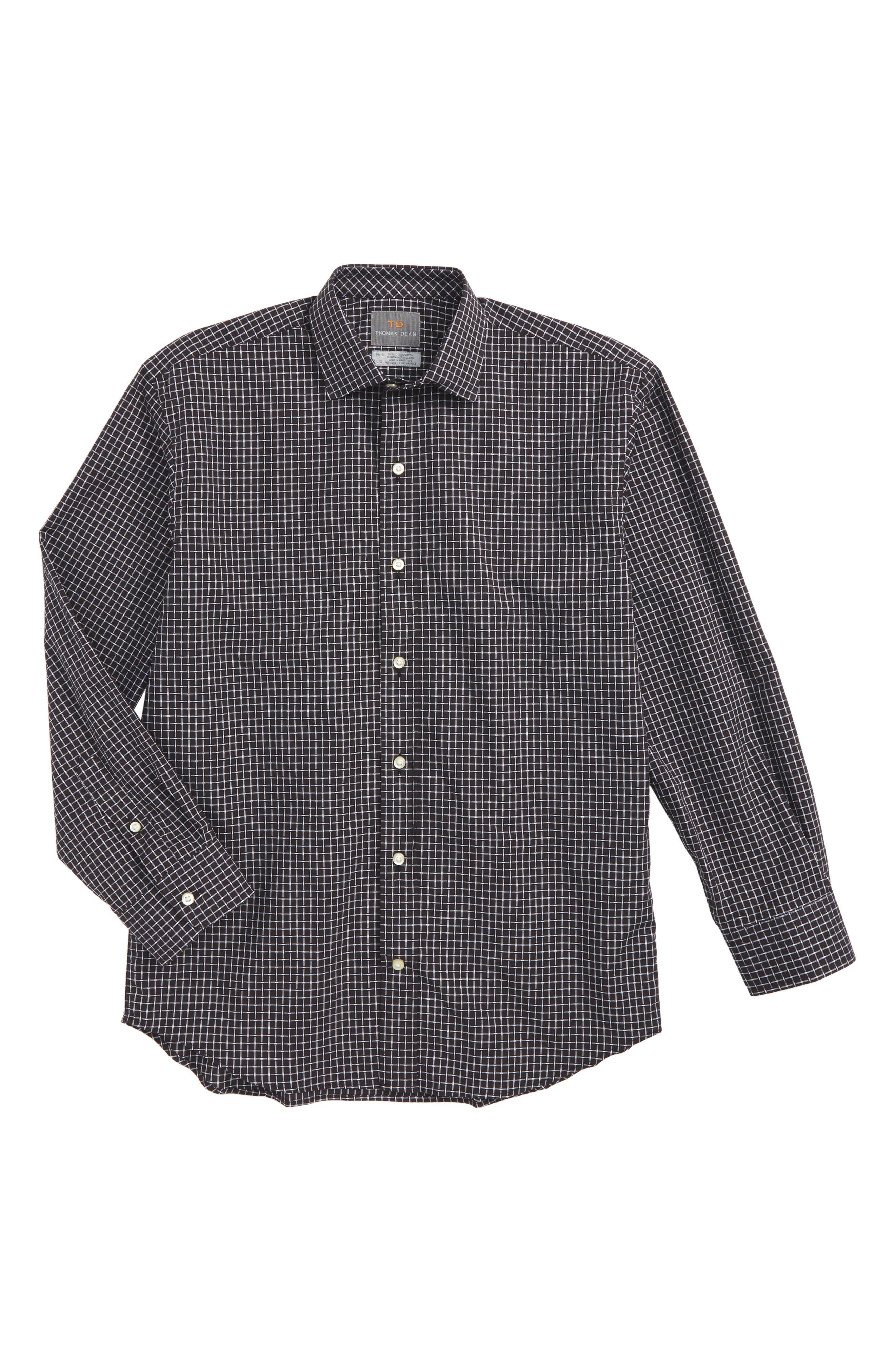 Check Dress Shirt,                             Main thumbnail 1, color,                             020