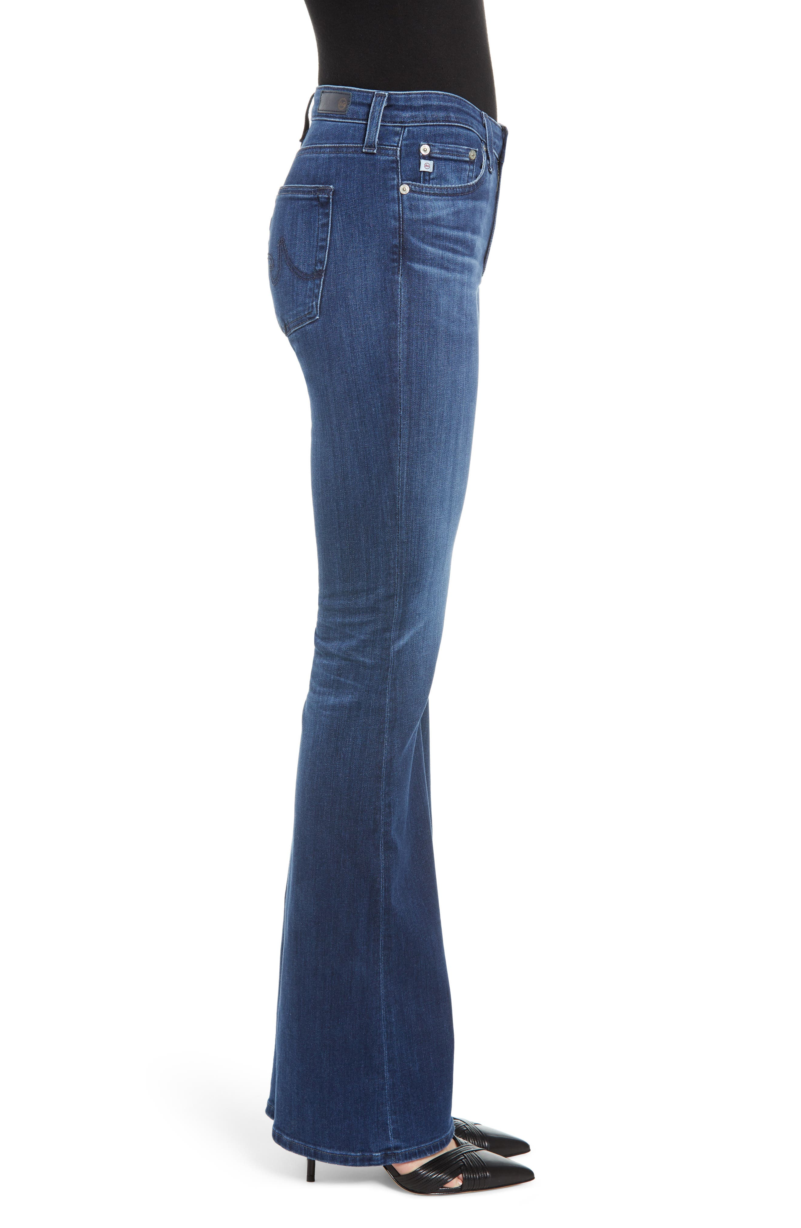Angel Bootcut Jeans,                             Alternate thumbnail 3, color,                             05 YEAR BLUE ESSENCE