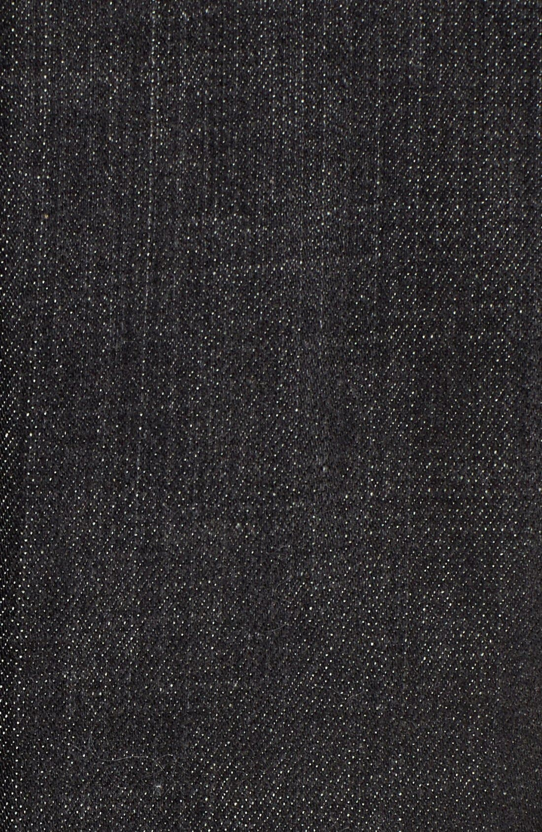 Denim Classic Collar Jacket,                             Alternate thumbnail 5, color,                             007