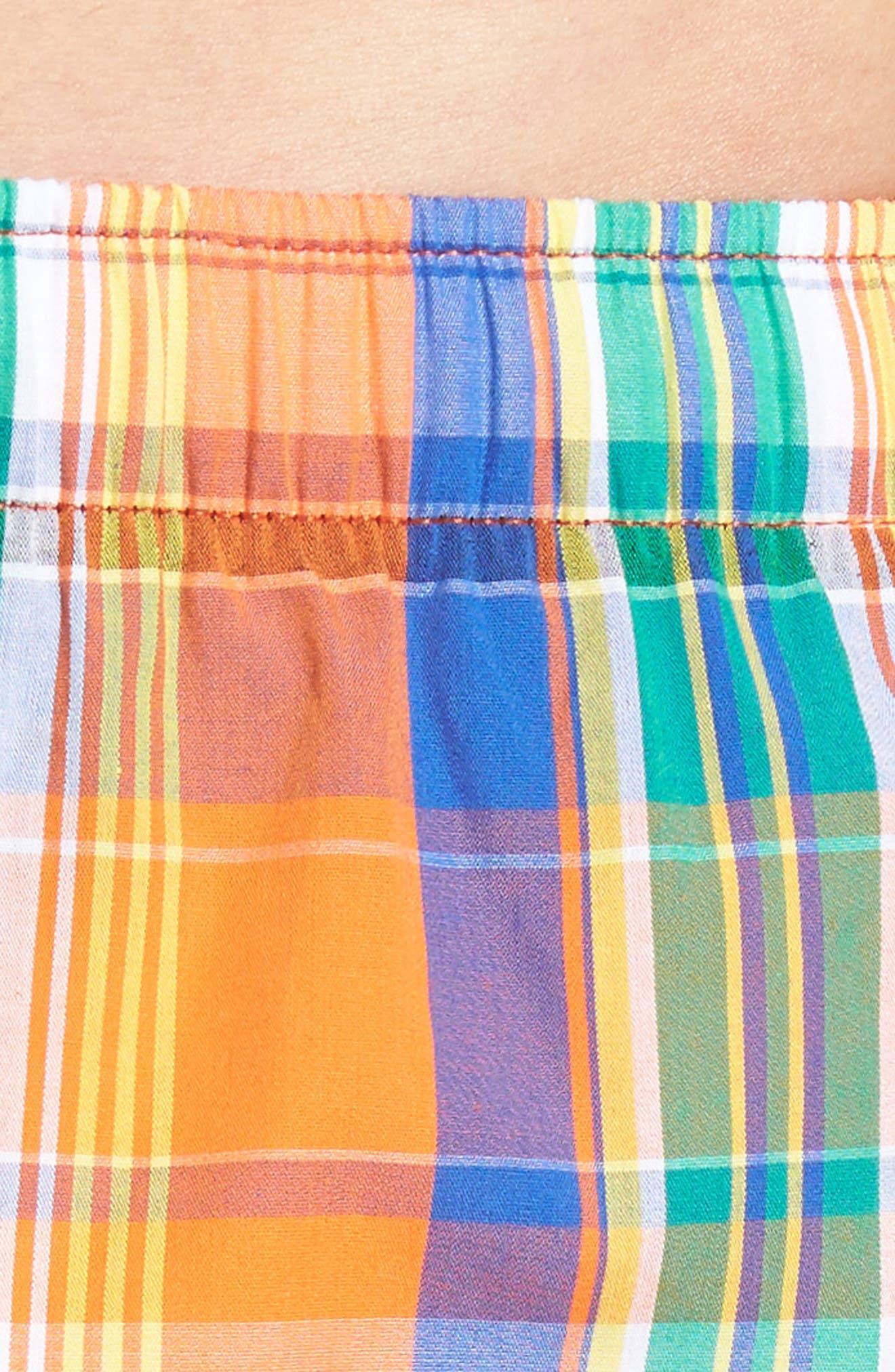 Stripe Cotton Boxers,                             Alternate thumbnail 16, color,