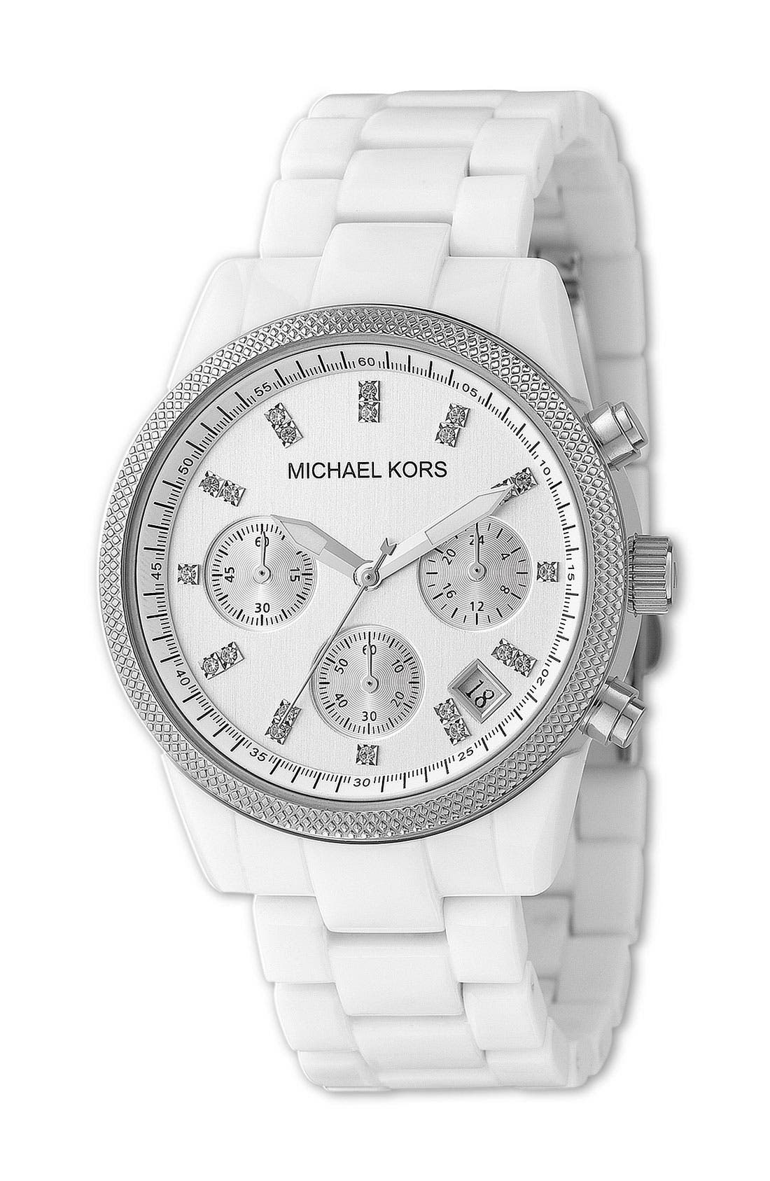 Michael Kors 'The Ritz' Chronograph Bracelet Watch, 36mm,                             Main thumbnail 2, color,