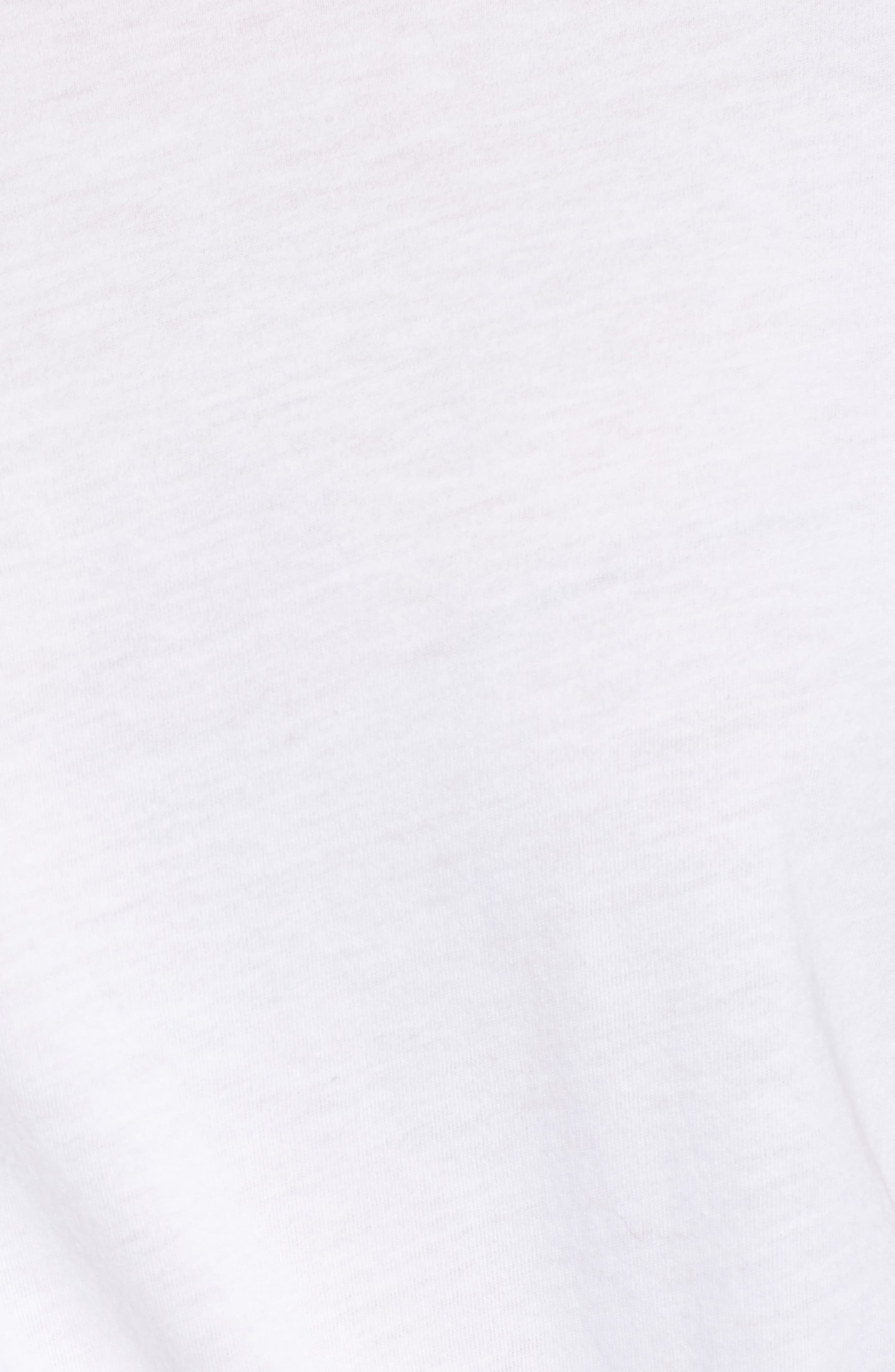 Crewneck Tee,                             Alternate thumbnail 6, color,                             TRUE WHITE