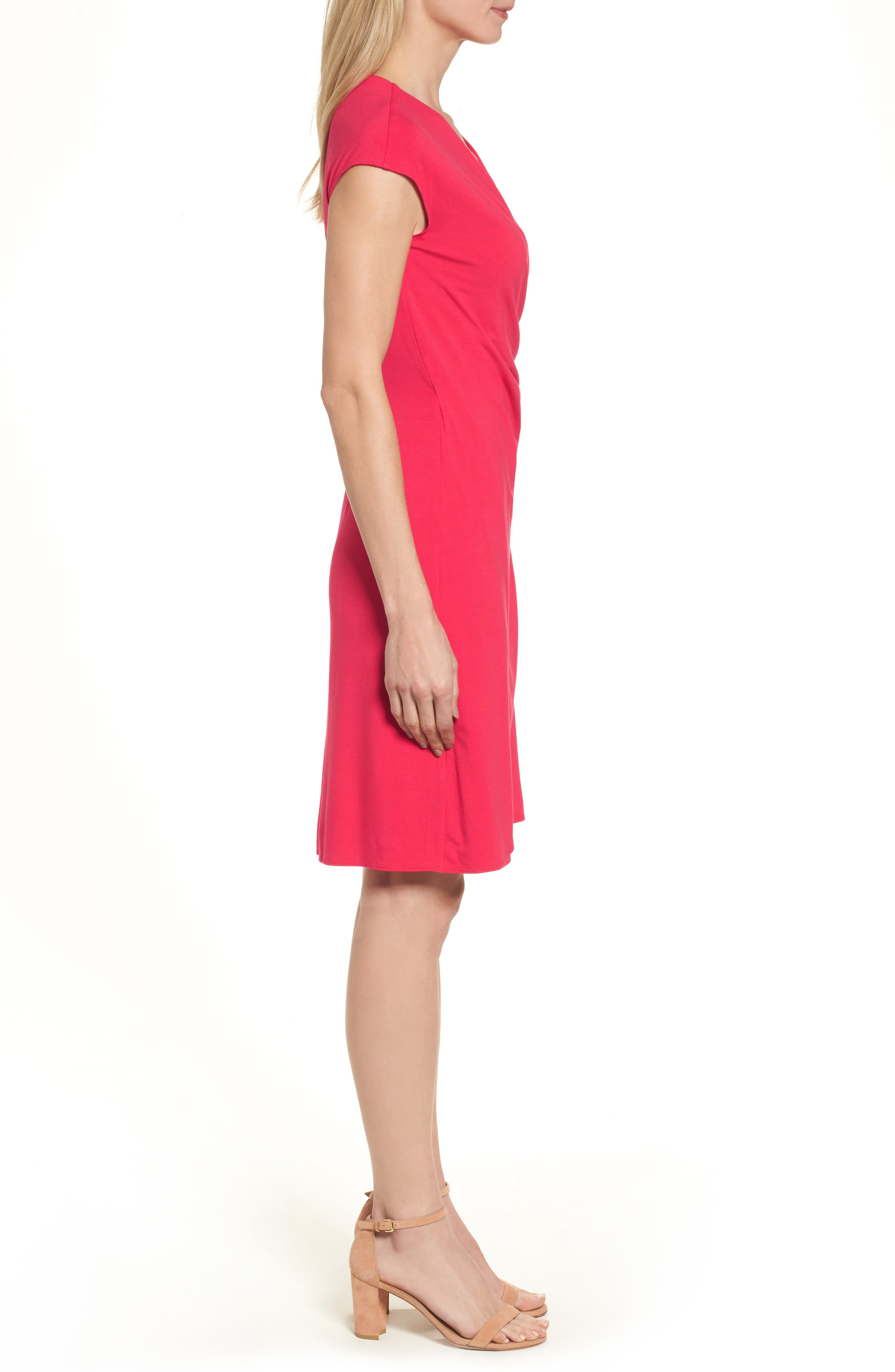 'Tambour' Side Gathered Dress,                             Alternate thumbnail 20, color,