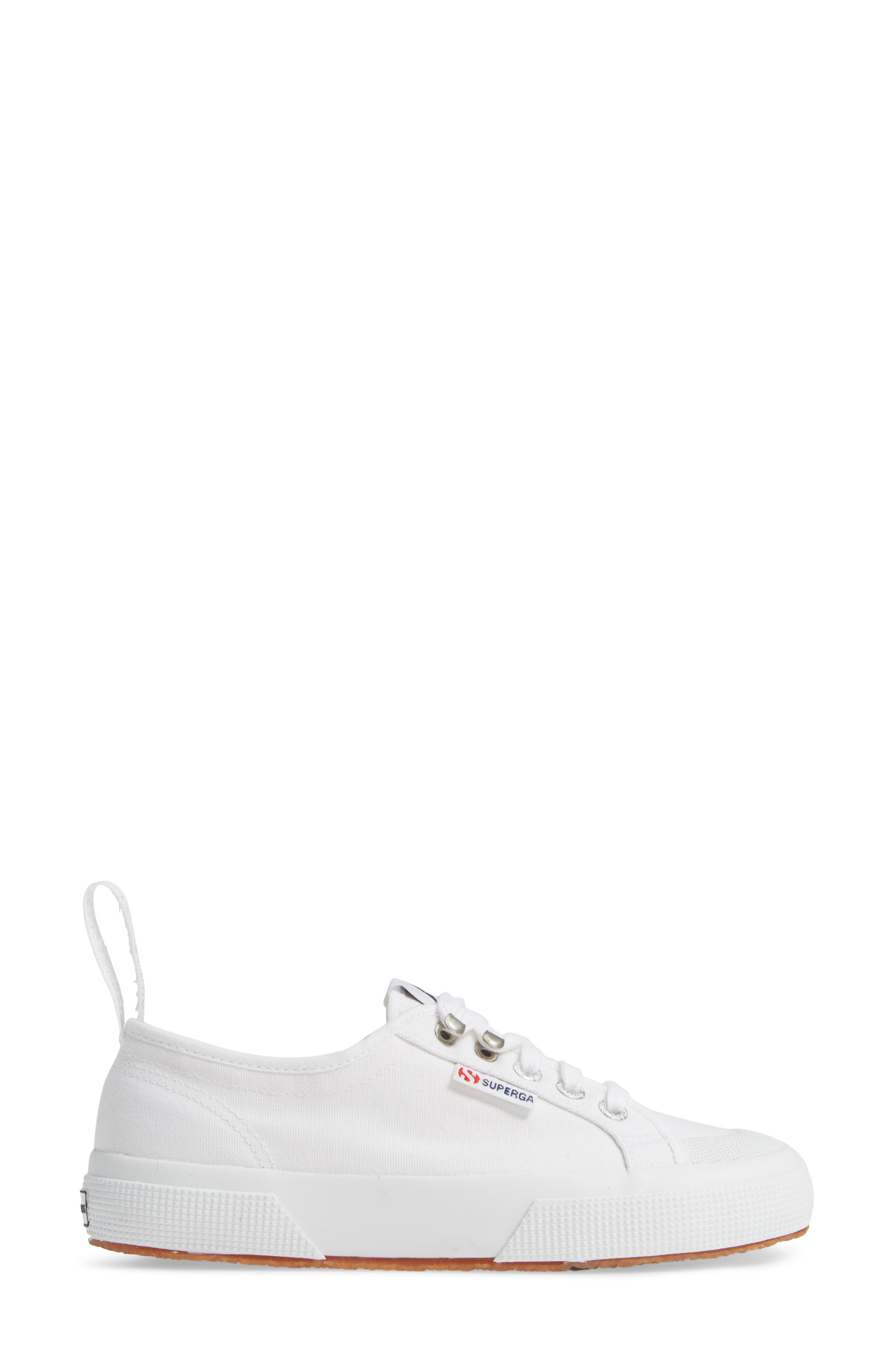 x Alexa Chung 2294 Cothookw Low Top Sneaker,                             Alternate thumbnail 3, color,                             WHITE