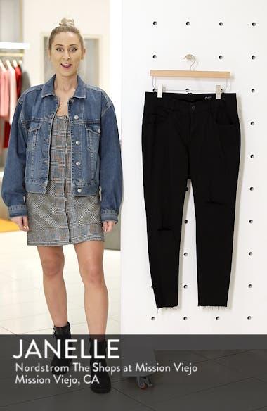 Fray Hem Ankle Skinny Jeans, sales video thumbnail