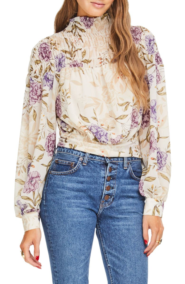 ASTR the Label Rhonda Floral Top | Nordstrom