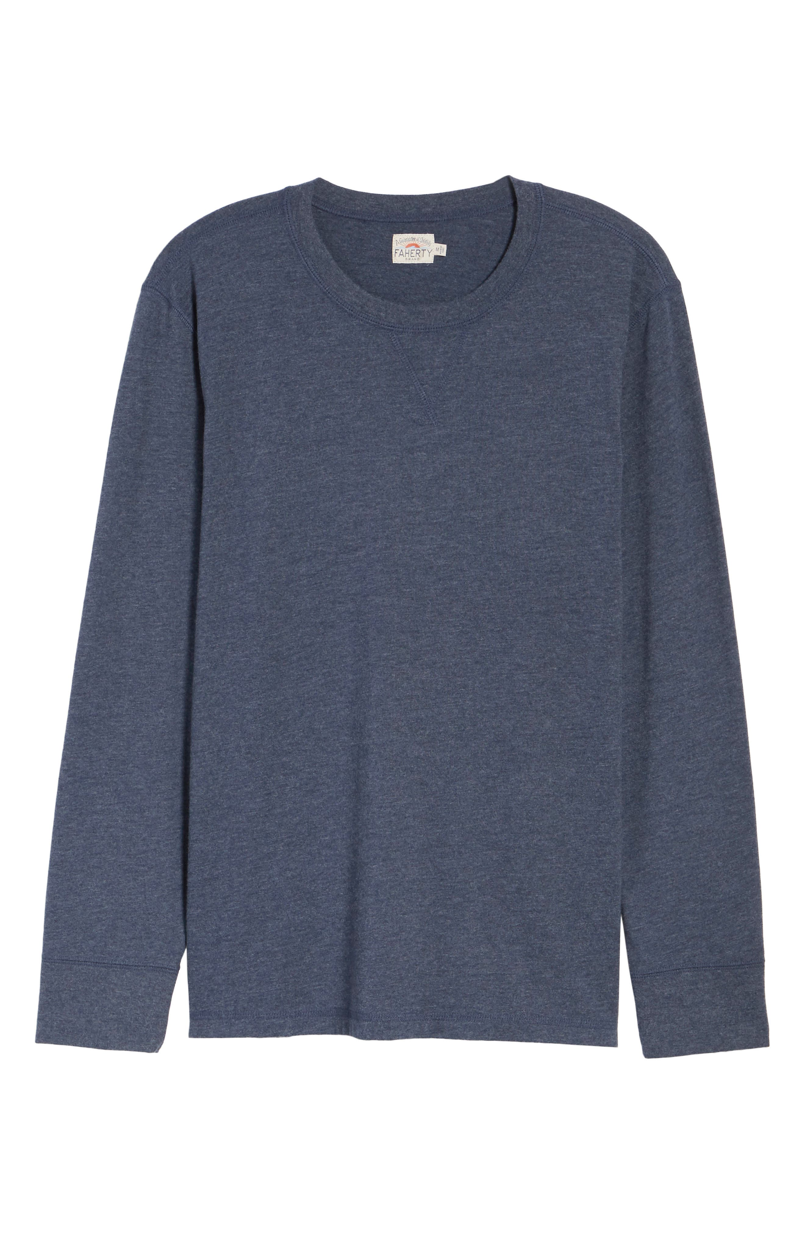 Notch Long Sleeve T-Shirt,                             Alternate thumbnail 12, color,