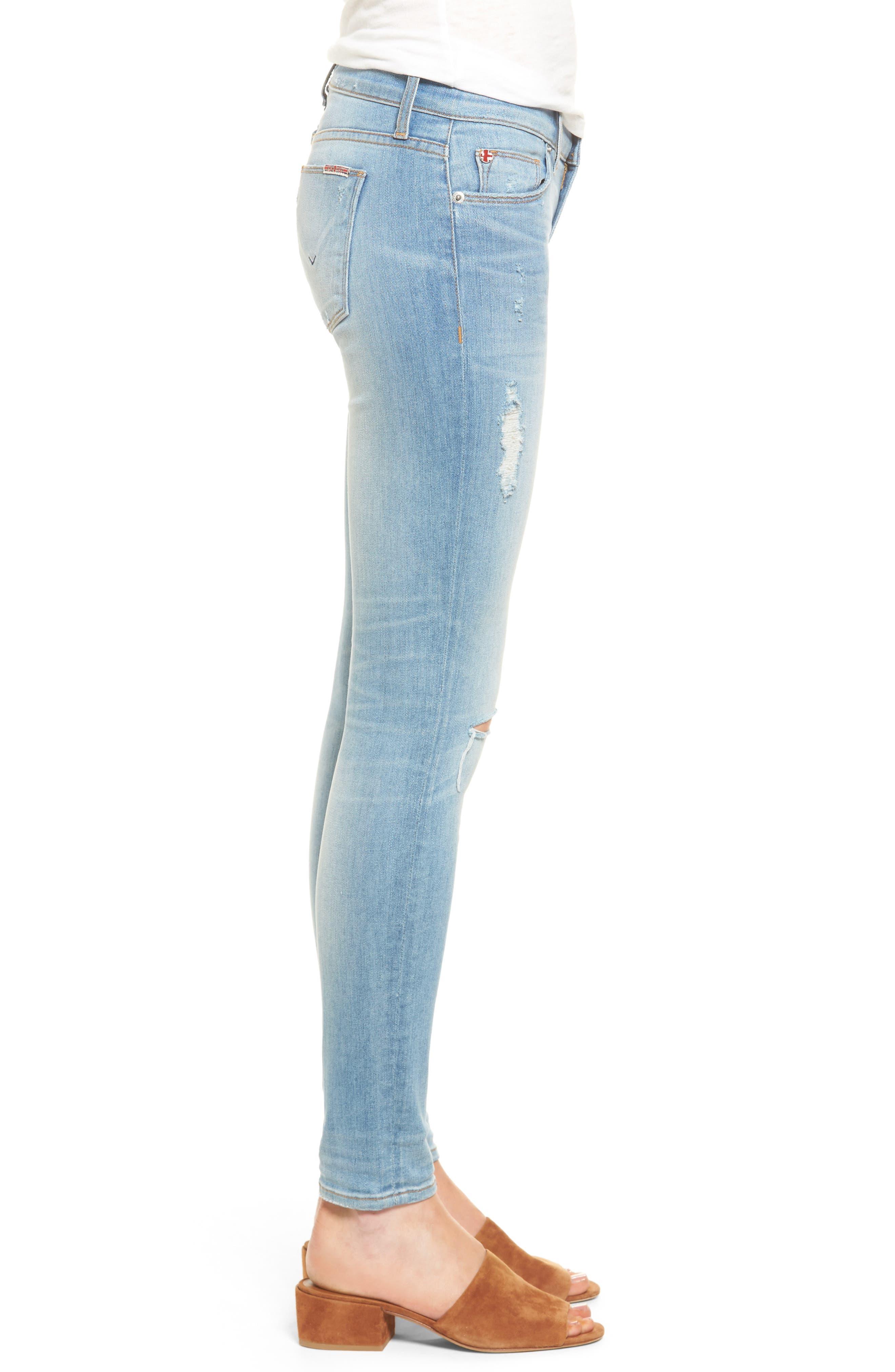 Krista Ankle Super Skinny Jeans,                             Alternate thumbnail 7, color,