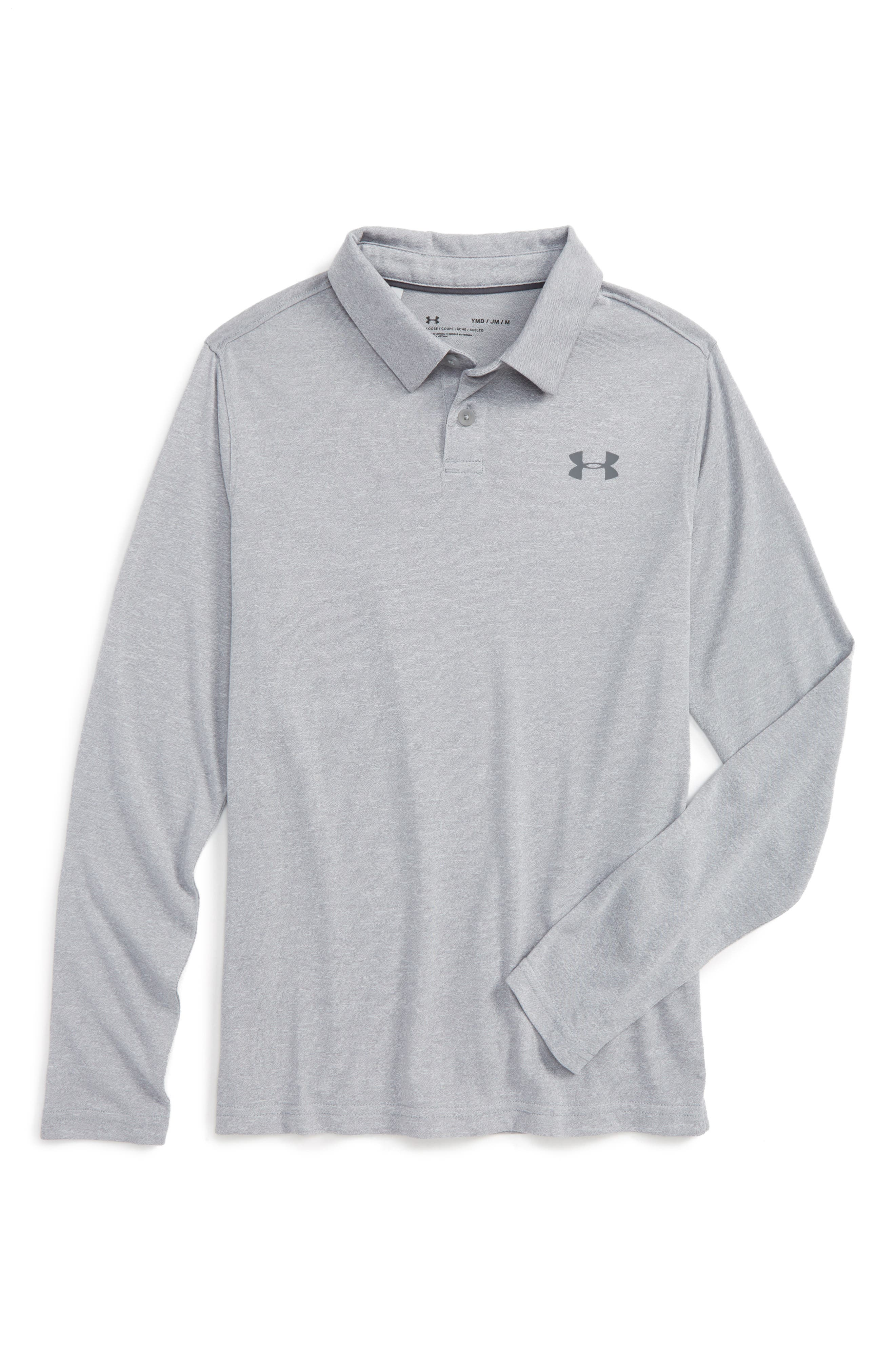 Threadborne<sup>™</sup> Long Sleeve Polo,                         Main,                         color, 025