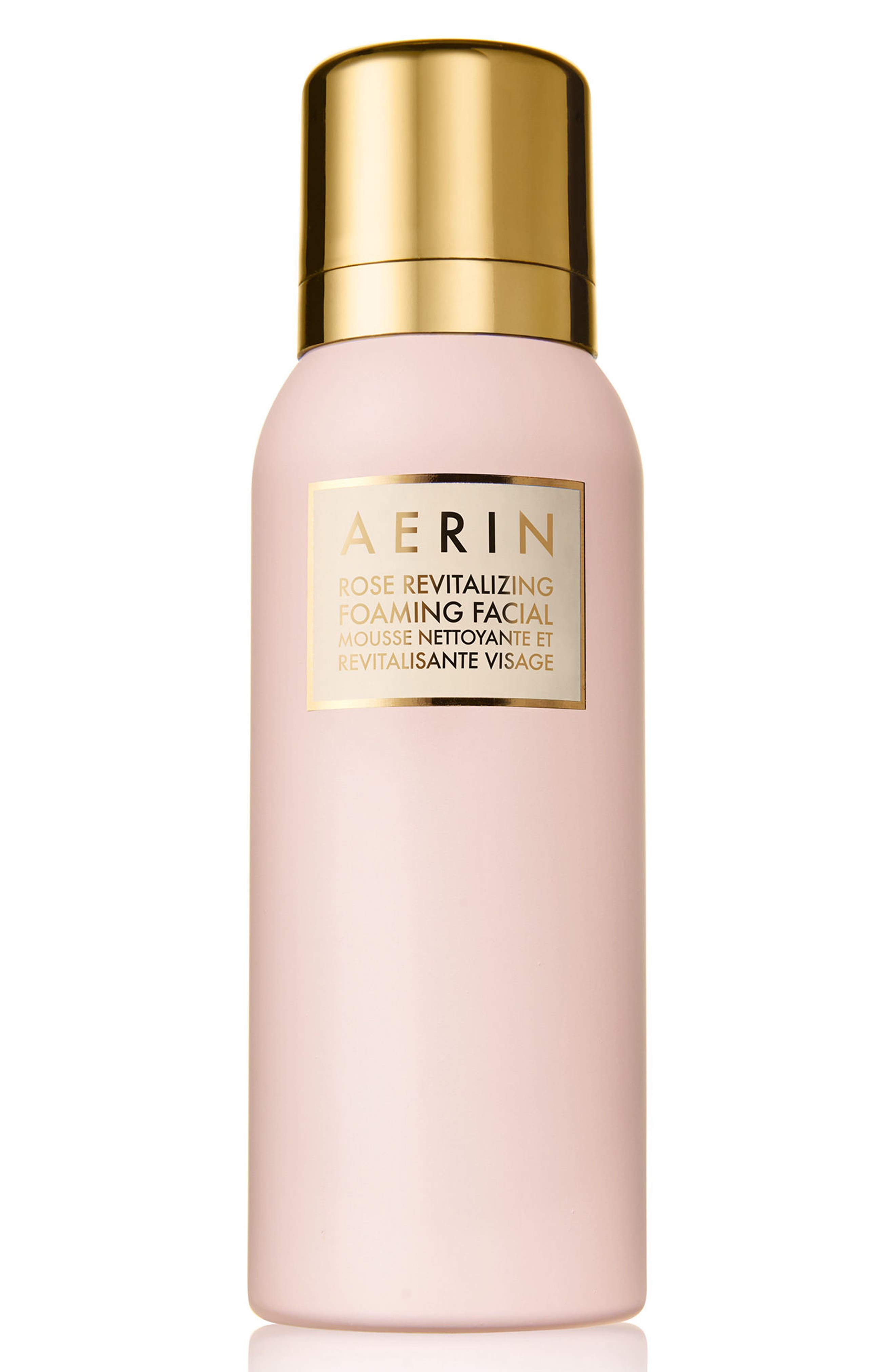 AERIN Beauty Rose Revitalizing Foaming Facial Mousse,                             Main thumbnail 1, color,                             000