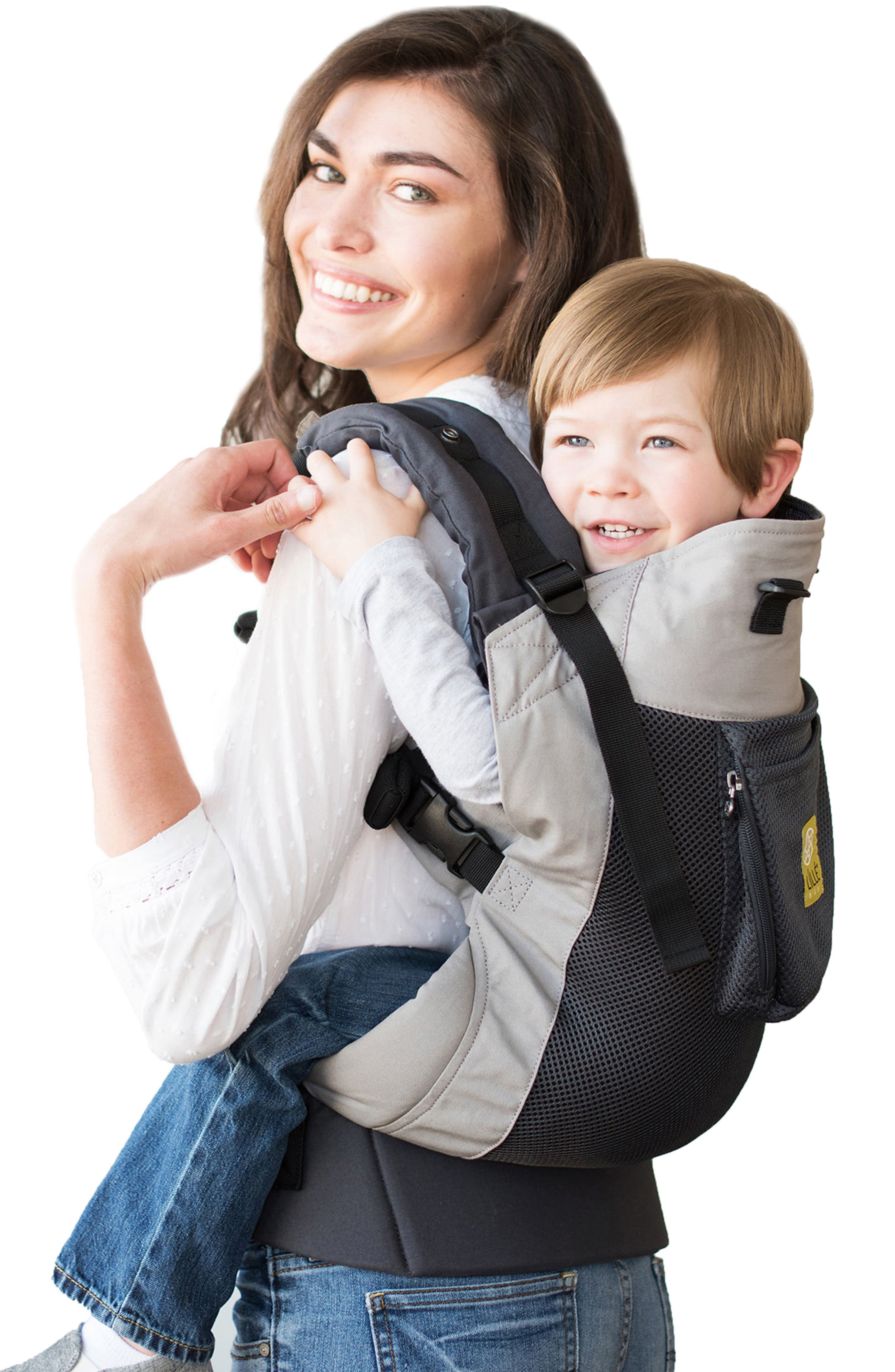 Infant Lillebaby Carryon(TM) Airflow Baby Carrier Size One Size  Grey