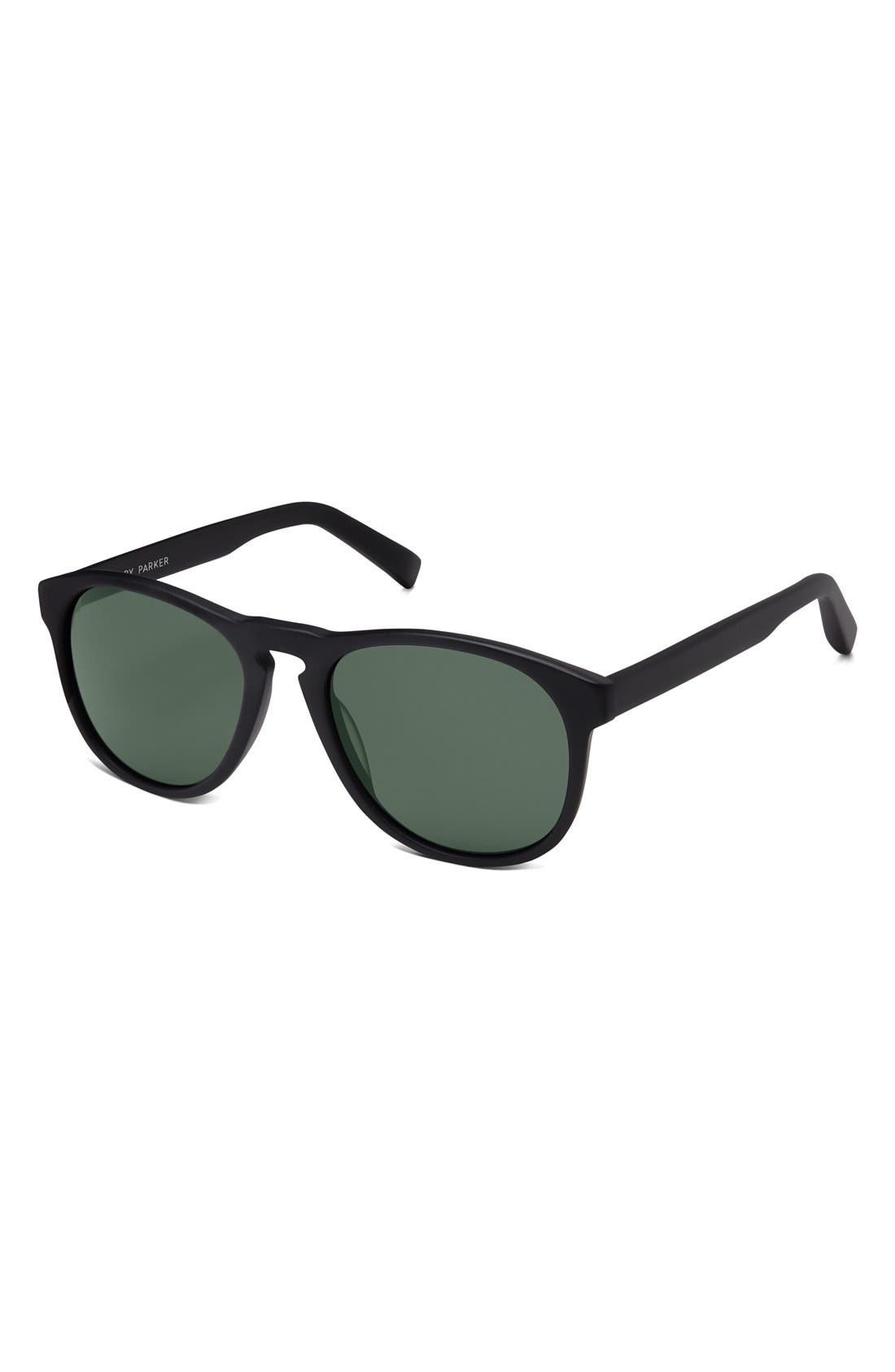 WARBY PARKER,                             'Griffin' 53mm Polarized Sunglasses,                             Alternate thumbnail 2, color,                             001