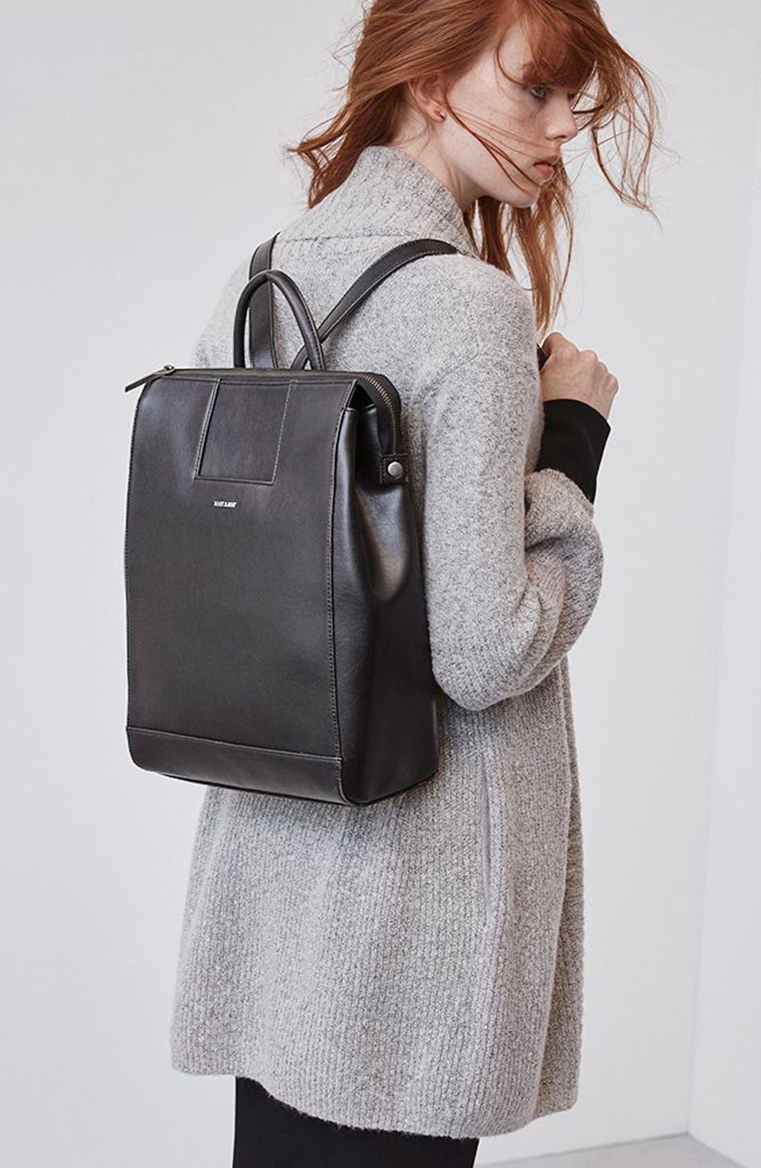 'Katherine' Faux Leather Backpack,                             Alternate thumbnail 37, color,
