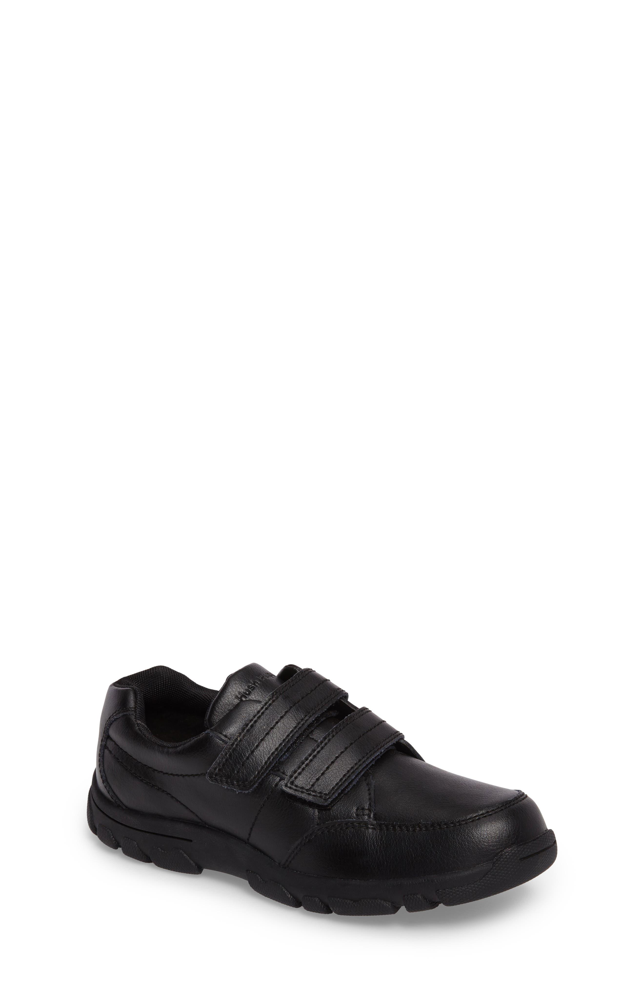 Jace Dress Sneaker,                         Main,                         color, BLACK LEATHER