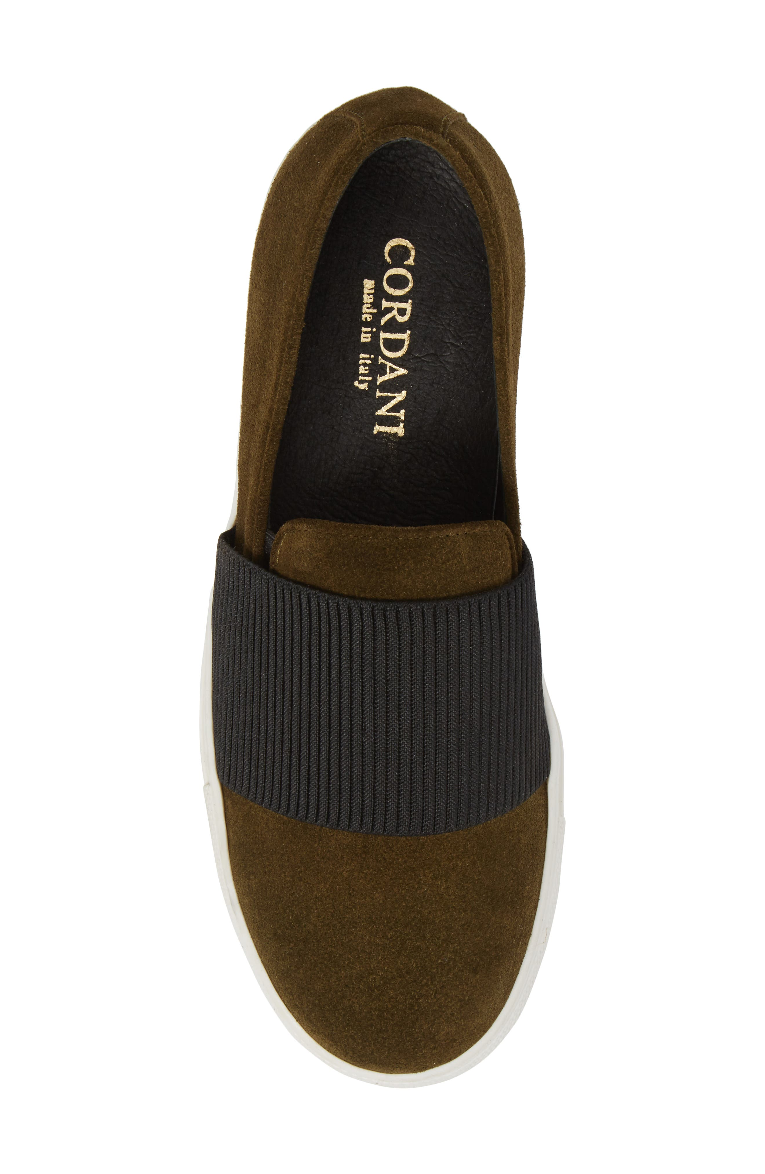 Otto Slip-On Sneaker,                             Alternate thumbnail 5, color,                             MILITARY PRINT SUEDE