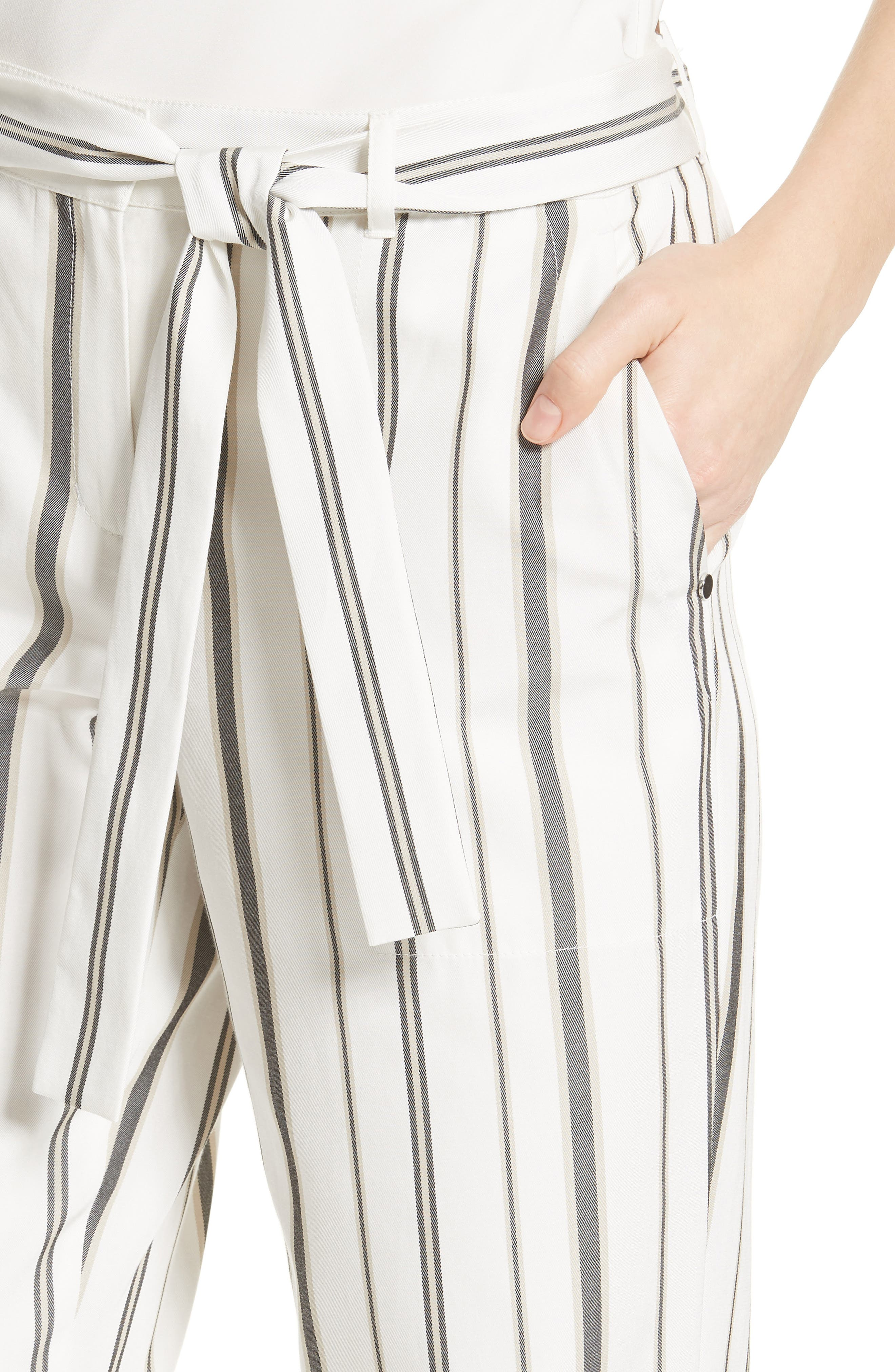 Fulton Gallant Stripe Pants,                             Alternate thumbnail 4, color,                             CLOUD MULTI