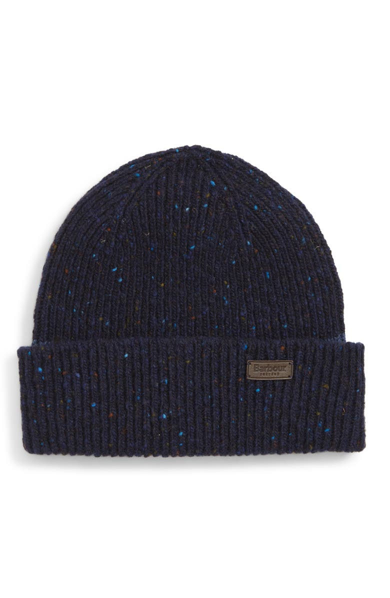 ... Men - Lyst cheap prices 15c4d f7aad  Barbour Lowerfell Donegal Beanie  Hat - Blue In Navy ModeSens buying now 84302 70002 ... 56f5ad268e7c
