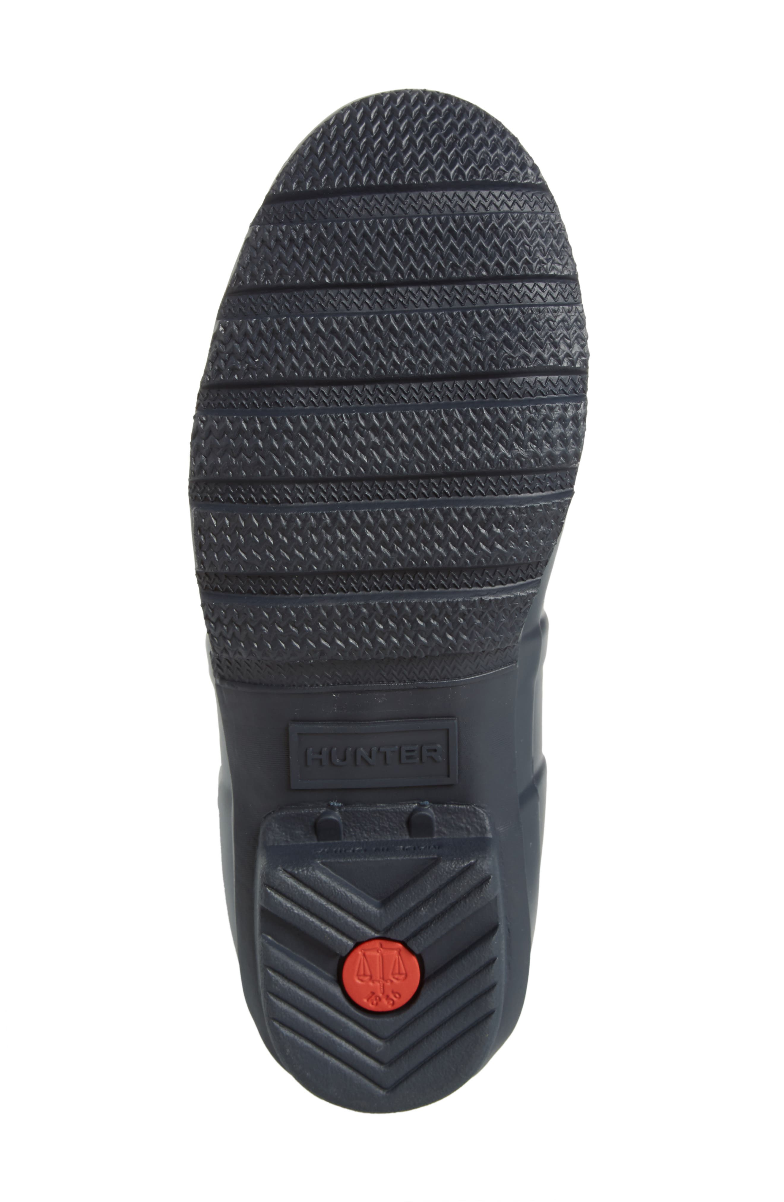 HUNTER,                             Original Tall Gingham Waterproof Rain Boot,                             Alternate thumbnail 6, color,                             410