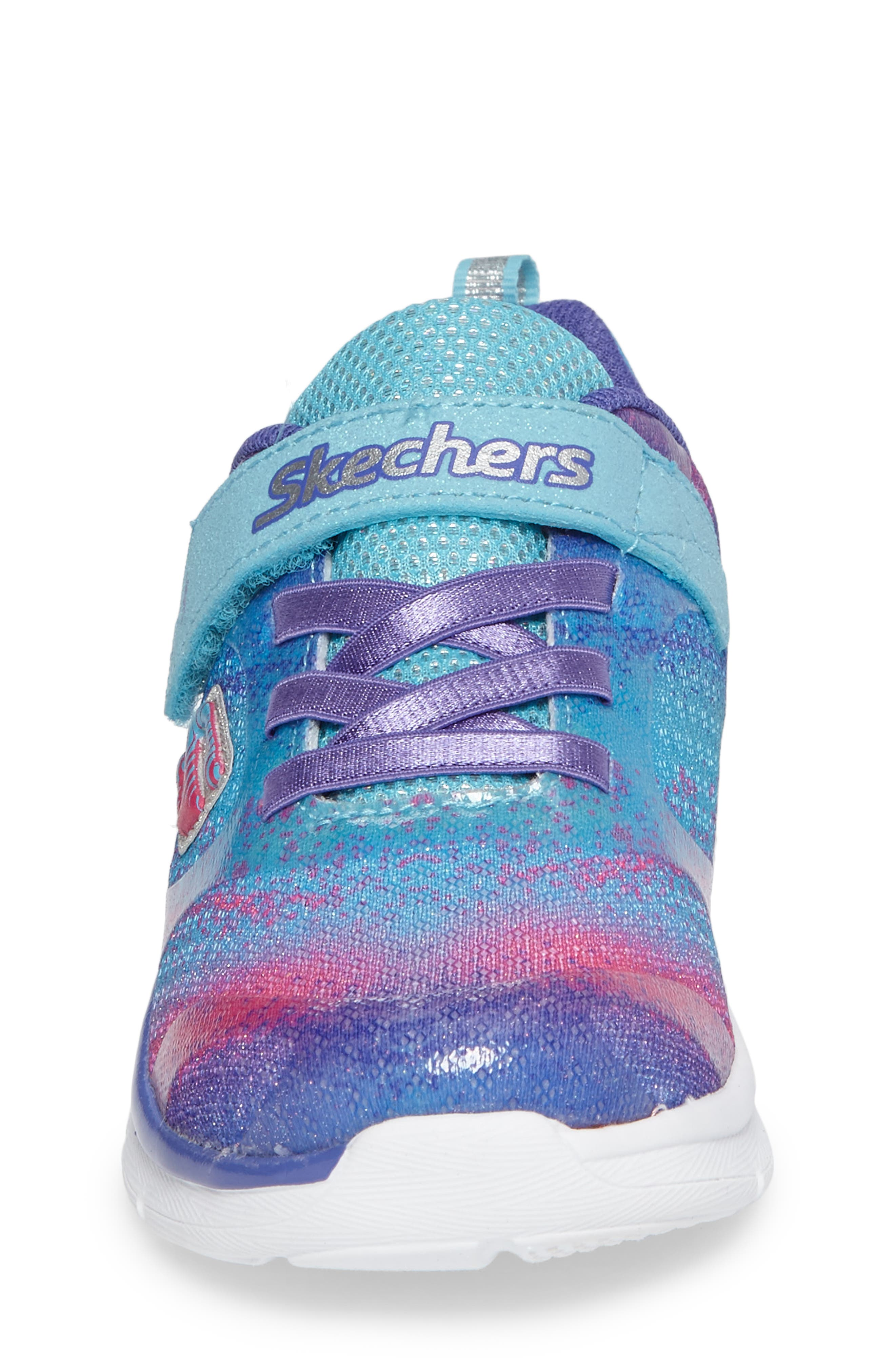 Skech-Lite Colorful Cutie Sneaker,                             Alternate thumbnail 4, color,